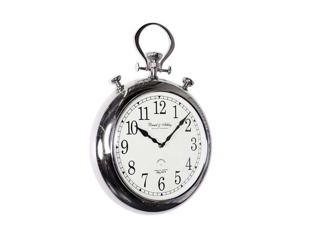 ЧасыНастенные часы<br>Часы подвесные Pocket из металла цвета никель. Циферблат под стеклом.&amp;amp;nbsp;&amp;lt;span style=&amp;quot;font-size: 14px;&amp;quot;&amp;gt;Кварцевый механизм.&amp;lt;/span&amp;gt;<br><br>Material: Металл