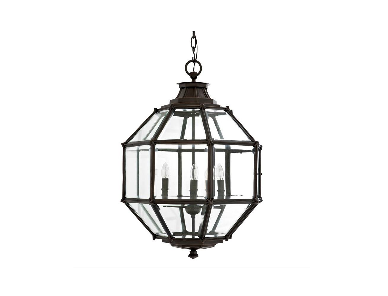 Подвесная люстра OwenЛюстры подвесные<br>Подвесной светильник-латерна из коллекции Owen на металлической арматуре коричневого цвета. Плафон выполнен из прозрачного стекла. Высота светильника регулируется за счет звеньев цепи.&amp;lt;div&amp;gt;&amp;lt;br&amp;gt;&amp;lt;/div&amp;gt;&amp;lt;div&amp;gt;&amp;lt;br&amp;gt;&amp;lt;/div&amp;gt;&amp;lt;div&amp;gt;&amp;lt;div&amp;gt;Вид цоколя: E14&amp;lt;/div&amp;gt;&amp;lt;div&amp;gt;Мощность лампы: 40W&amp;lt;/div&amp;gt;&amp;lt;div&amp;gt;Количество ламп: 4 (нет в комплекте)&amp;lt;/div&amp;gt;&amp;lt;/div&amp;gt;<br><br>Material: Металл<br>Width см: 60<br>Depth см: 60<br>Height см: 83