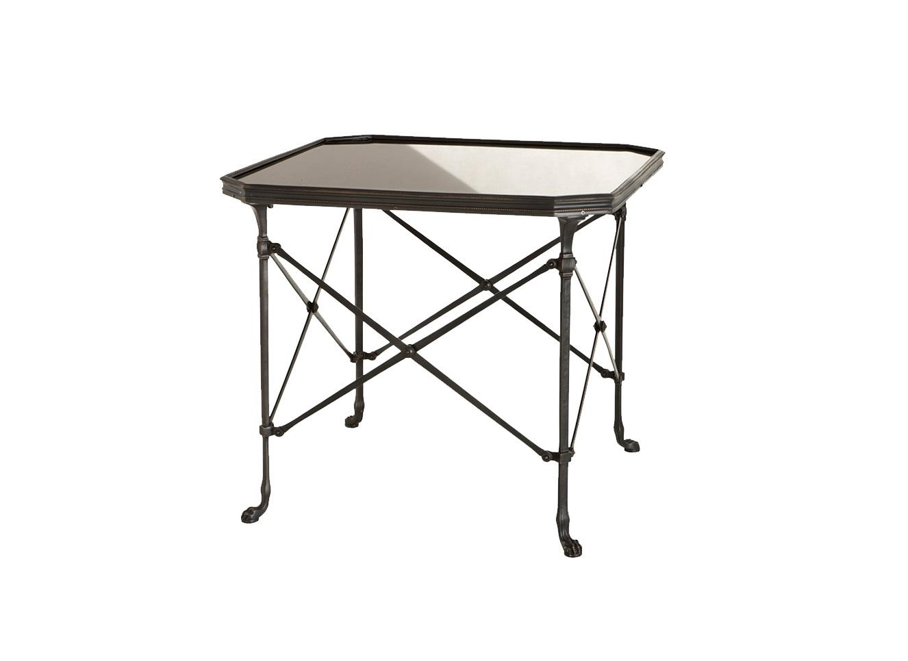 СтолЖурнальные столики<br>Столик с оригинальным дизайном Monte Carlo выполнен из пушечной бронзы. Столешница из мрамора.<br><br>Material: Мрамор<br>Width см: 63<br>Depth см: 63<br>Height см: 55,5