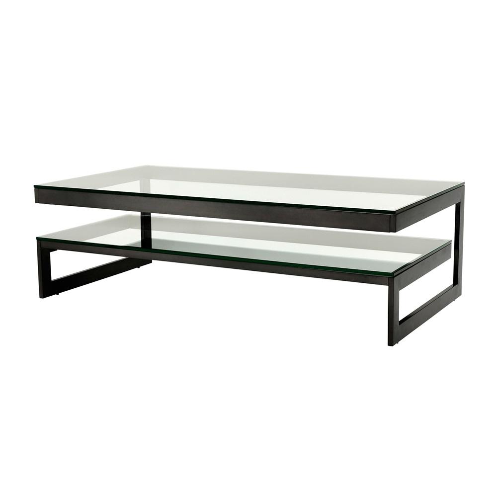 Журнальный столикЖурнальные столики<br>Журнальный столик Coffee Table Gamma на металлическом основании бронзового цвета. Столешница выполнена из плотного прозрачного стекла.<br><br>Material: Стекло<br>Ширина см: 150.0<br>Высота см: 46.0<br>Глубина см: 80.0