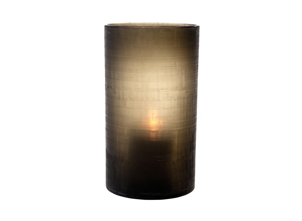 ПодсвечникСвечи, подсвечники, аромалампы<br>Подсвечник Octave large ручной работы из стекла. Цвет стекла: темный серо-зеленый.<br><br>Material: Стекло<br>Height см: 36<br>Diameter см: 20