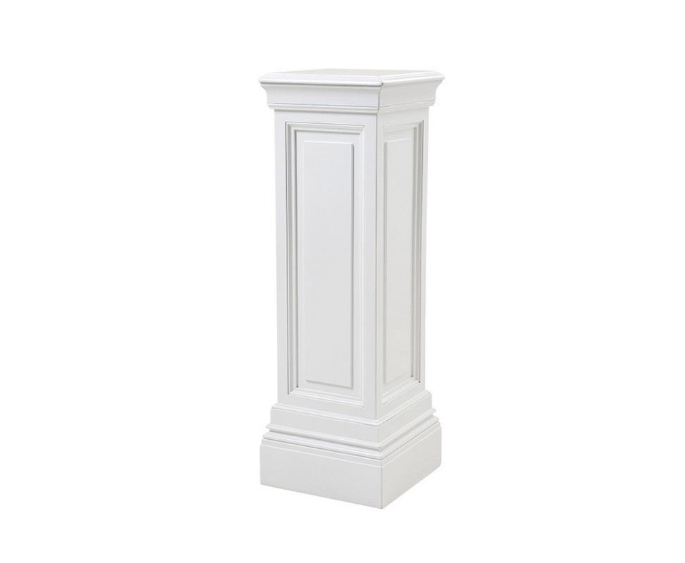 КолоннаПьедесталы<br>Декоративная колонна Column Salvatore выполнена из дерева с отделкой белого цвета.<br><br>Material: Дерево<br>Width см: 33<br>Depth см: 33<br>Height см: 100