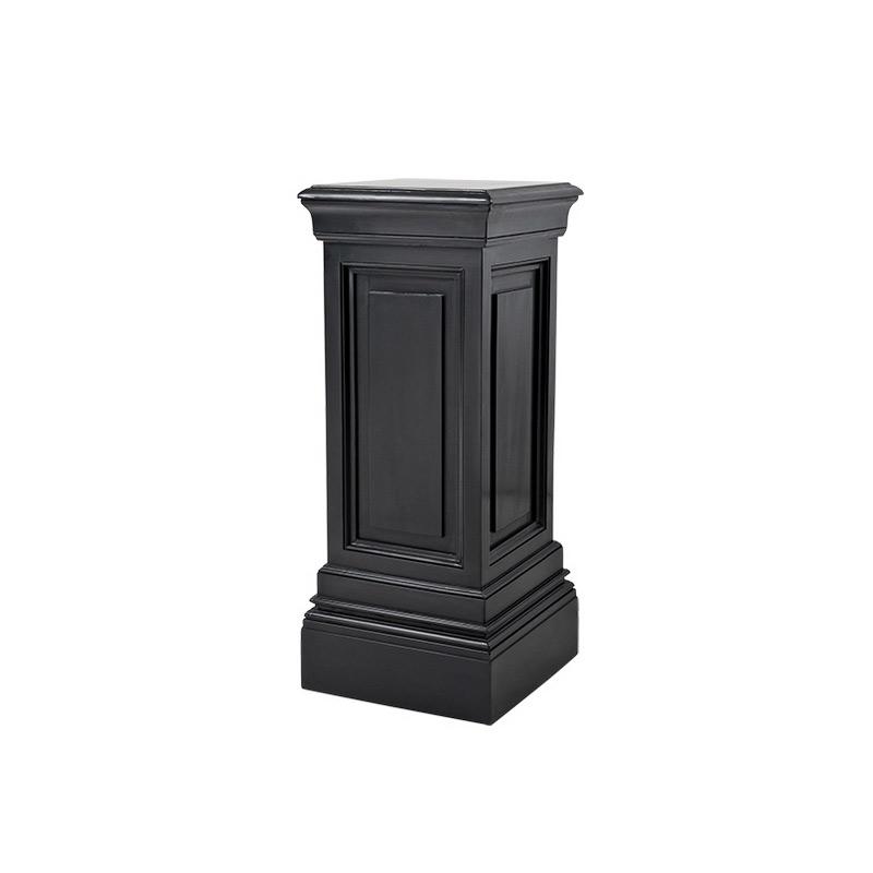 КолоннаПьедесталы<br>Декоративная колонна Column Salvatore выполнена из дерева с отделкой черного цвета.<br><br>Material: Дерево<br>Width см: 33<br>Depth см: 33<br>Height см: 80