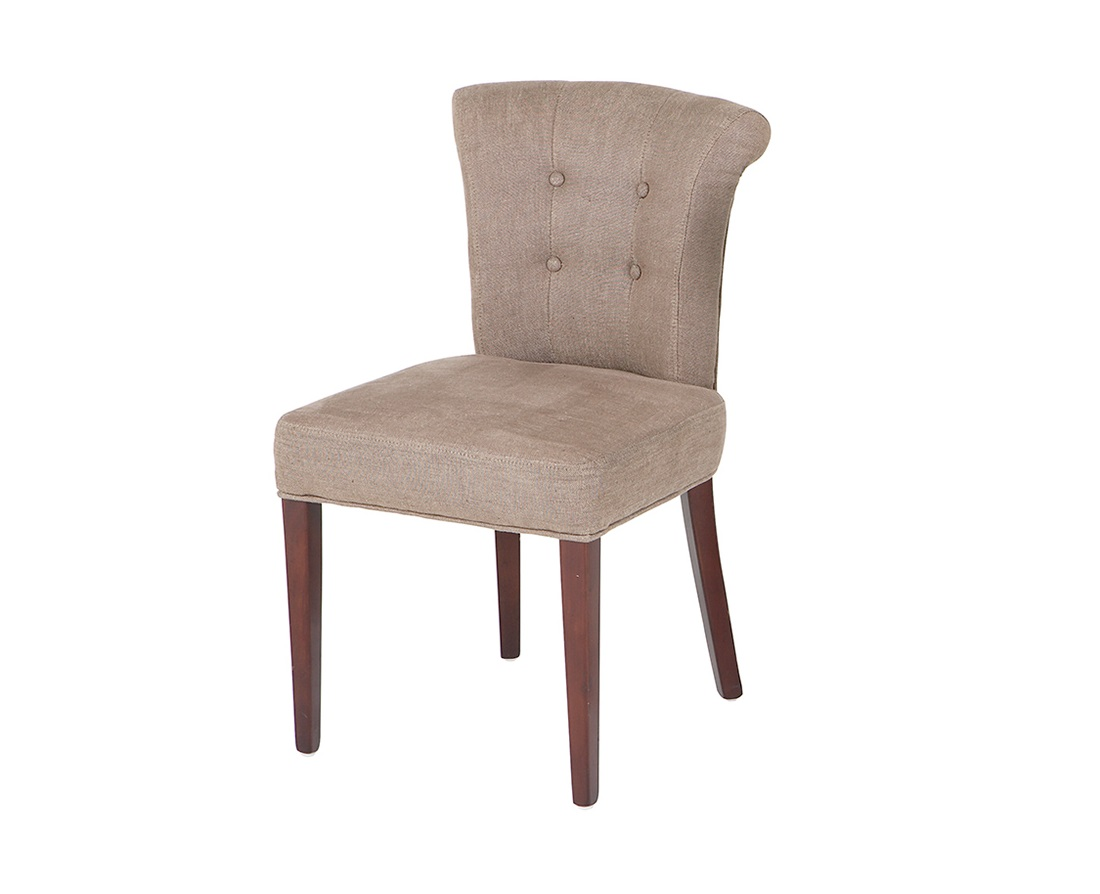 СтулОбеденные стулья<br>Chair Key Largo - стул. Материал обивки - 100% лен песочного цвета. Деревянные ножки коричневого цвета.&amp;amp;nbsp;&amp;lt;div&amp;gt;&amp;lt;br&amp;gt;&amp;lt;/div&amp;gt;&amp;lt;div&amp;gt;Высота сидения 51 см, глубина - 45 см.&amp;lt;/div&amp;gt;<br><br>Material: Дерево<br>Ширина см: 49<br>Высота см: 88<br>Глубина см: 56