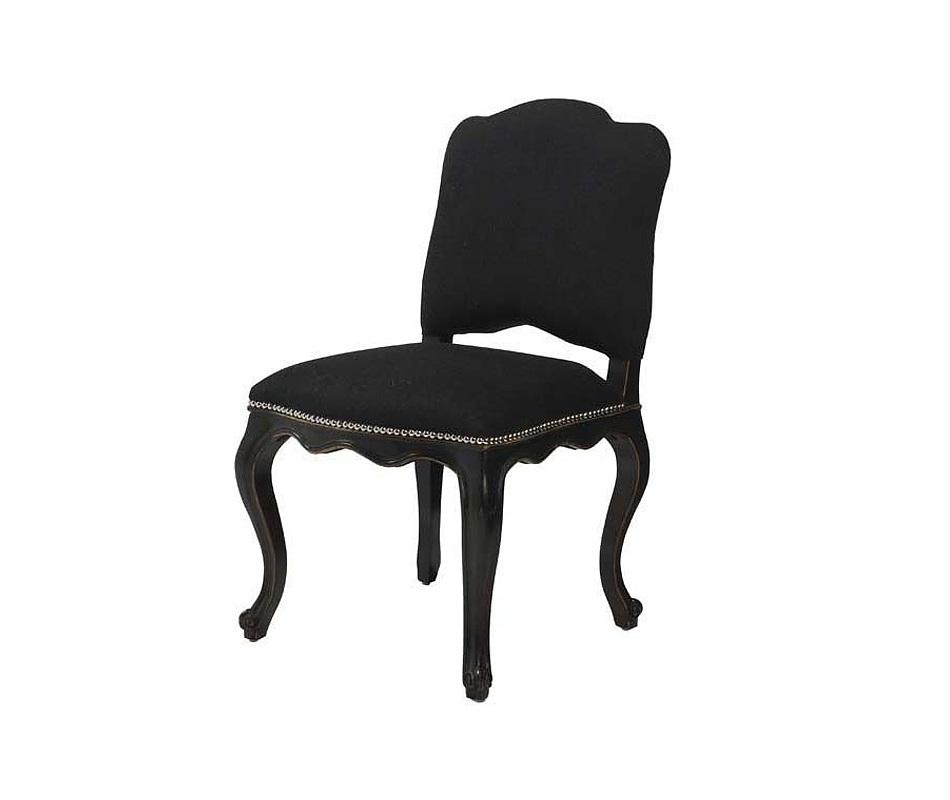 СтулОбеденные стулья<br>Мягкий стул Devonshire with Lion на деревянных ножках из состаренного дуба черного цвета. Кресло обтянуто кашемировой тканью черного цвета. На спинке сзади декоративное кольцо.&amp;amp;nbsp;&amp;lt;div&amp;gt;&amp;lt;br&amp;gt;&amp;lt;/div&amp;gt;&amp;lt;div&amp;gt;Состав: 40% шерсть, 60% полиэстер.&amp;lt;/div&amp;gt;<br><br>Material: Текстиль<br>Width см: 54<br>Depth см: 51<br>Height см: 91