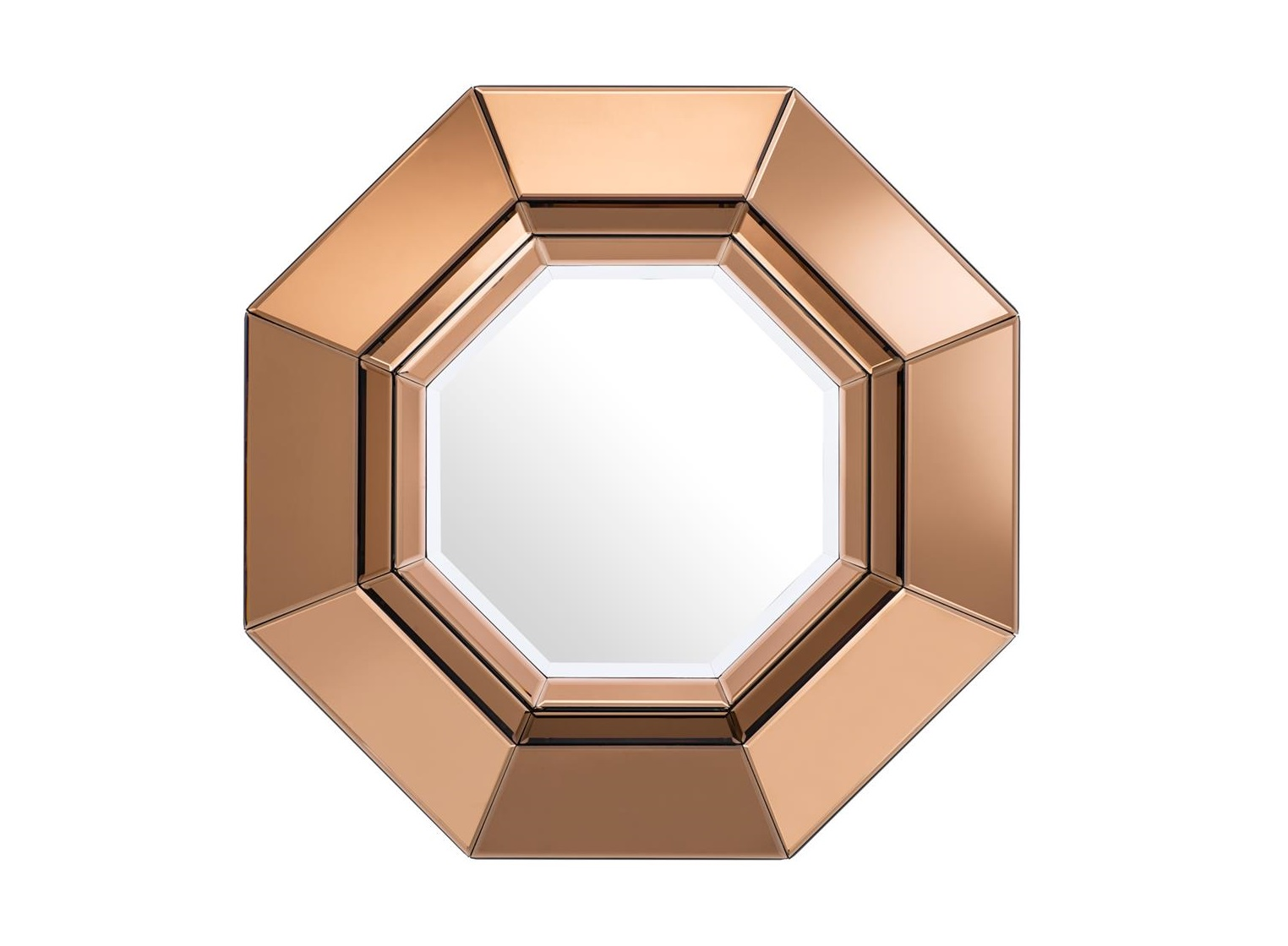 ЗеркалоНастенные зеркала<br>Зеркало Mirror Chartier в рамке из зеркального стекла янтарного цвета.<br><br>Material: Стекло<br>Высота см: 68