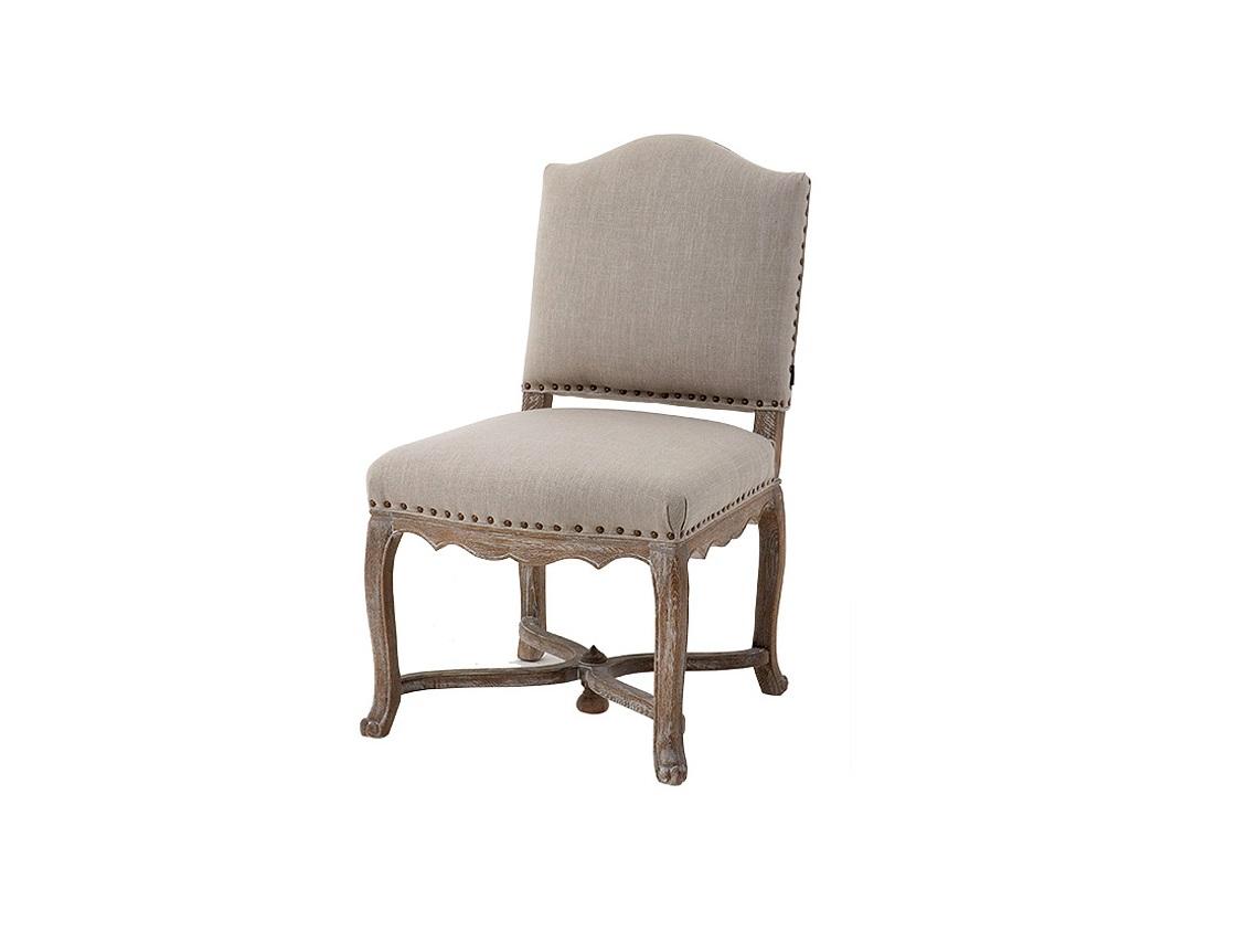 СтулОбеденные стулья<br>Мягкий стул Virginie на деревянных ножках из состаренного дуба коричневого цвета. Стул обтянут льняной тканью бежевого цвета. Декорирован металлическими заклепками.&amp;amp;nbsp;&amp;lt;div&amp;gt;&amp;lt;br&amp;gt;&amp;lt;/div&amp;gt;&amp;lt;div&amp;gt;С&amp;lt;span style=&amp;quot;font-size: 14px;&amp;quot;&amp;gt;остав: 28% лён, 18% полиэстер, 54% вискоза.&amp;lt;/span&amp;gt;&amp;lt;/div&amp;gt;<br><br>Material: Дерево<br>Ширина см: 56<br>Высота см: 96<br>Глубина см: 64