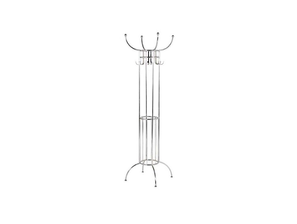 Вешалка DauphineВешалки<br>Напольная вешалка Dauphine из металла для одежды, зонтов и тростей. Цвет отделки - никель.<br><br>Material: Металл<br>Высота см: 186.0
