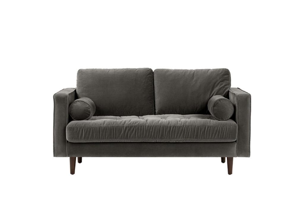 Диван DorianДвухместные диваны<br>Ну, еще пять минут!..Именно так вы будете убеждать себя не подниматься с этого дивана как можно дольше. Компактный и мягкий, Dorian &amp;nbsp;заново откроет ваш взгляд на отдых.Материалы:&amp;nbsp;Корпус — фанера, брус. Ткань — 100% полиэстер 40 000 циклов.  Ножки (Дерево).Есть возможность изготовления в другом материале обивки.<br><br>kit: None<br>gender: None