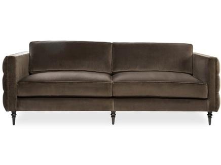 Диван rothschild (myfurnish) коричневый 221x76x91 см.