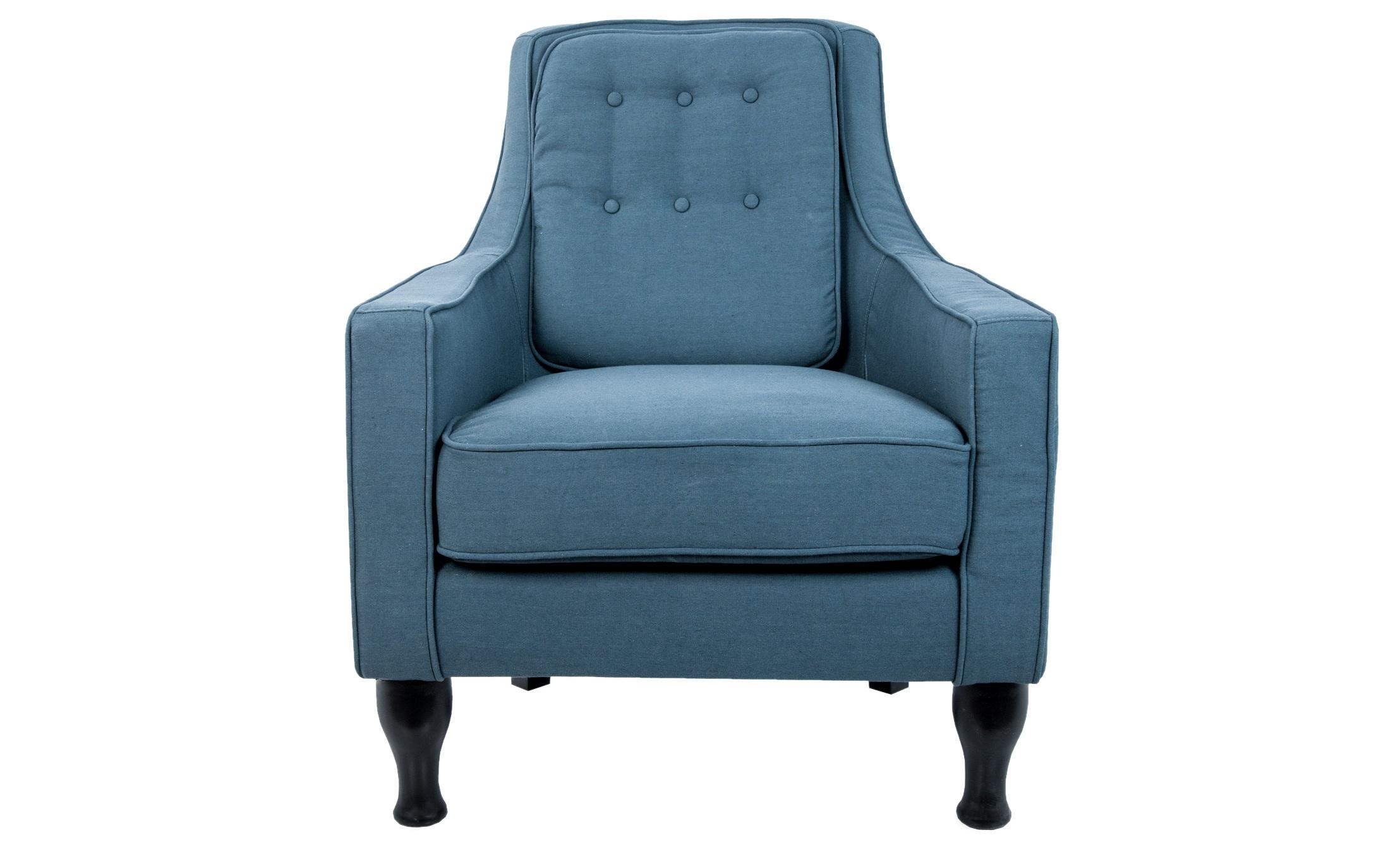 Кресло MontiИнтерьерные кресла<br>Стильное и крайне уютное кресло! Глубокое, удобное, с высокой спинкой и подлокотниками. Интересный эргономический дизайн спинки, деревянные ножки - данная модель прекрасный выбор для тех, кто ценит комфорт.&amp;amp;nbsp;<br><br>Material: Лен<br>Width см: 80<br>Depth см: 90<br>Height см: 97