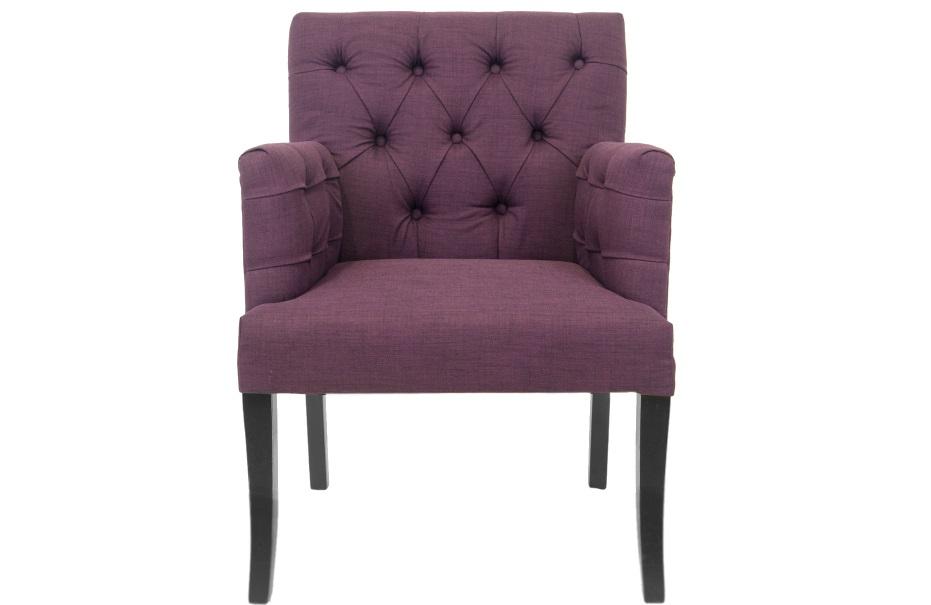 Полукресло ZanderПолукресла<br>Это грациозное кресло фиолетового цвета на высоких ножках выглядит как легкое полукресло.<br><br>Material: Лен<br>Width см: 64<br>Depth см: 64<br>Height см: 89