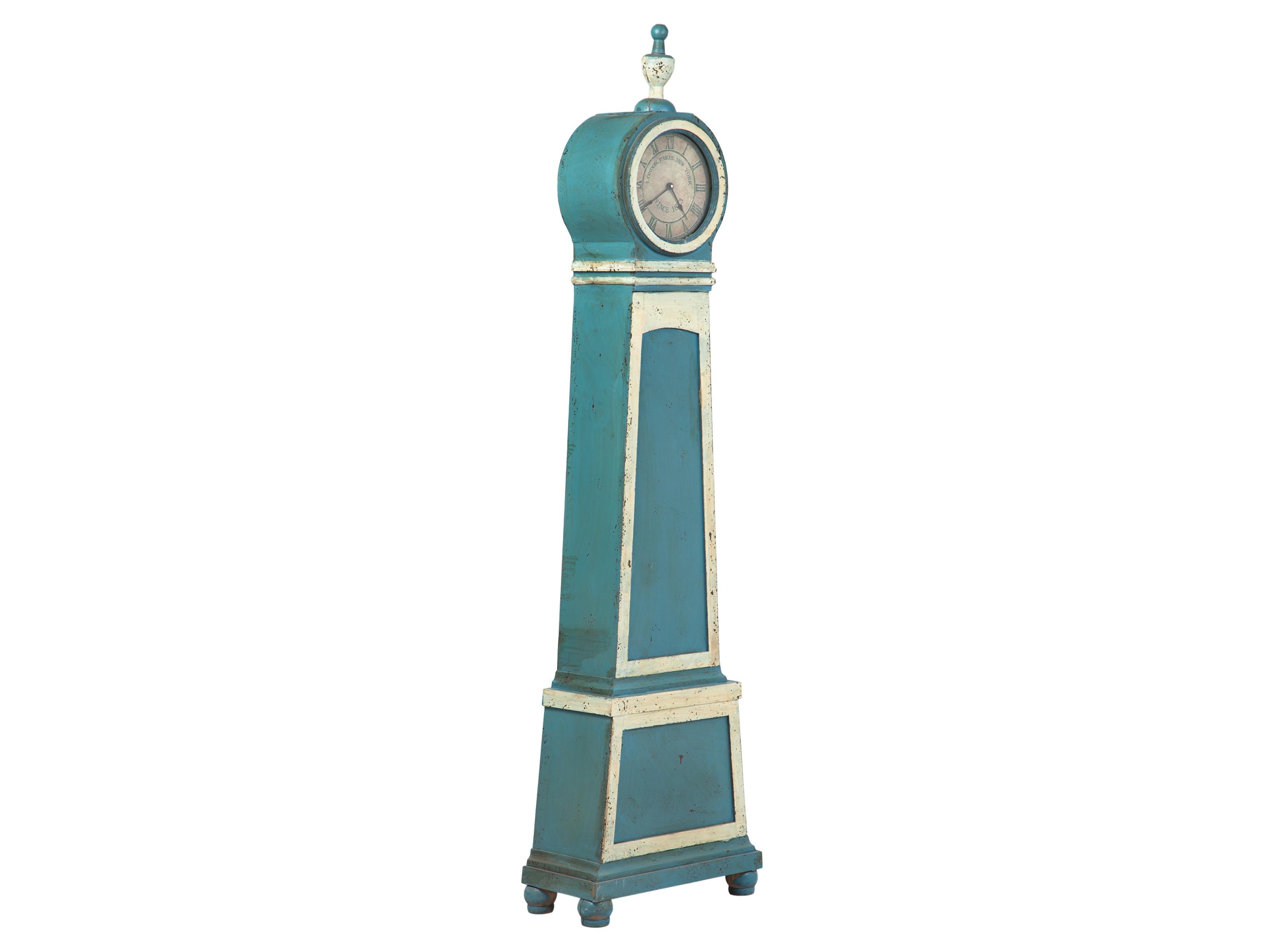Часы напольныеНапольные часы<br>Состаренные напольные часы в стиле прованс.<br><br>Material: Дерево<br>Width см: 42<br>Depth см: 23<br>Height см: 200