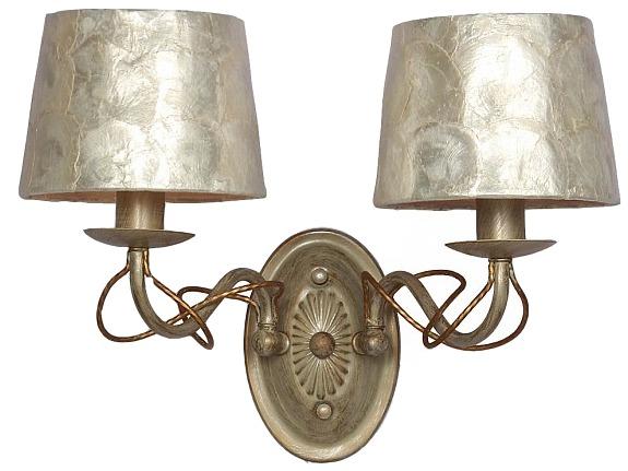 Бра CockleБра<br>Вид цоколя: E14Мощность:  40W Количество ламп: 2