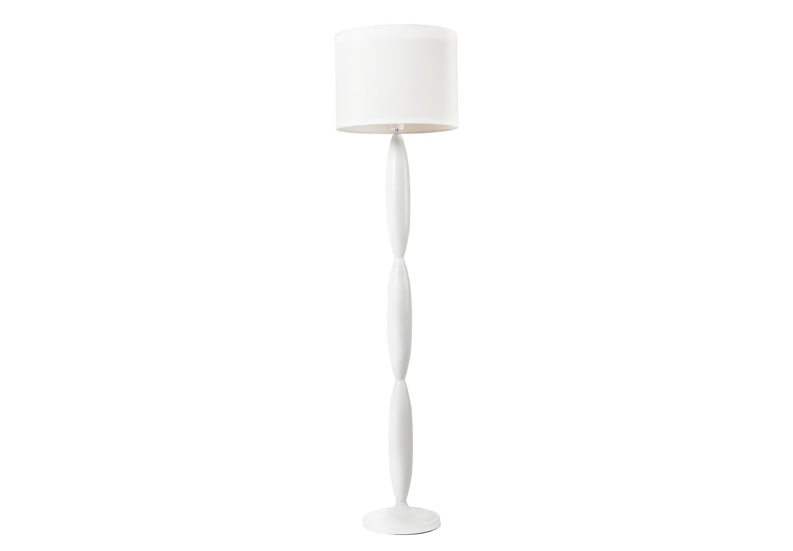 Торшер ClassicТоршеры<br>Напольная лампа: белый тканевый абажур размер диаметр 40 см, высота 30 см; основание хромированное железо белого цвета; предназначена для использования со светодиодными лампами&amp;amp;nbsp;&amp;lt;div&amp;gt;&amp;lt;br&amp;gt;&amp;lt;/div&amp;gt;&amp;lt;div&amp;gt;&amp;lt;div&amp;gt;Вид цоколя: E27&amp;lt;/div&amp;gt;&amp;lt;div&amp;gt;Мощность: &amp;amp;nbsp;60W&amp;amp;nbsp;&amp;lt;/div&amp;gt;&amp;lt;div&amp;gt;Количество ламп: 1 (в комплект не входит)&amp;lt;/div&amp;gt;&amp;lt;/div&amp;gt;<br><br>Material: Металл<br>Length см: None<br>Width см: None<br>Height см: 156<br>Diameter см: 40