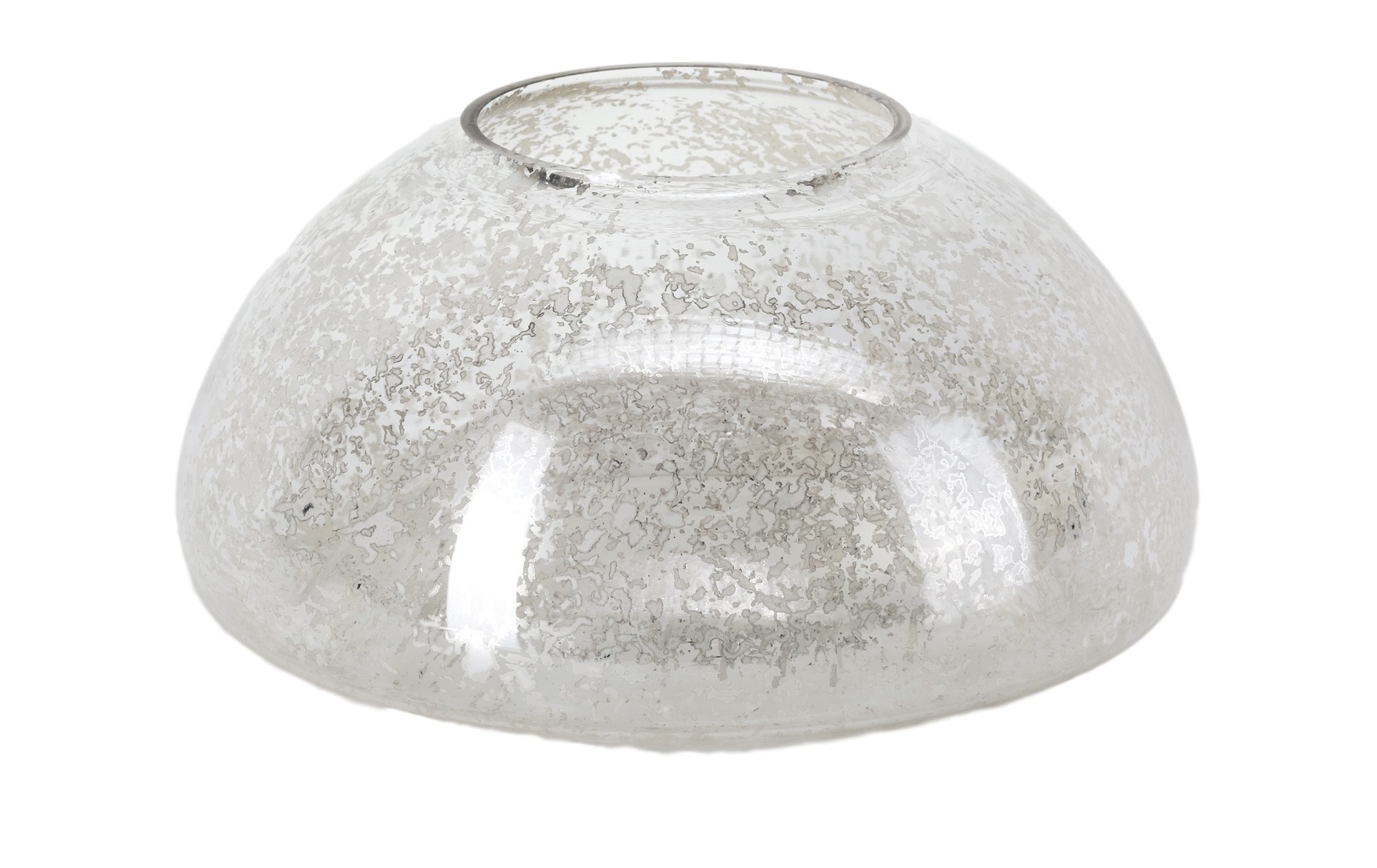 ПодсвечникПодсвечники<br>Подсвечник из стекла, декорированный в технике &amp;quot;mercury glass&amp;quot;<br><br>Material: Стекло<br>Height см: 13<br>Diameter см: 25