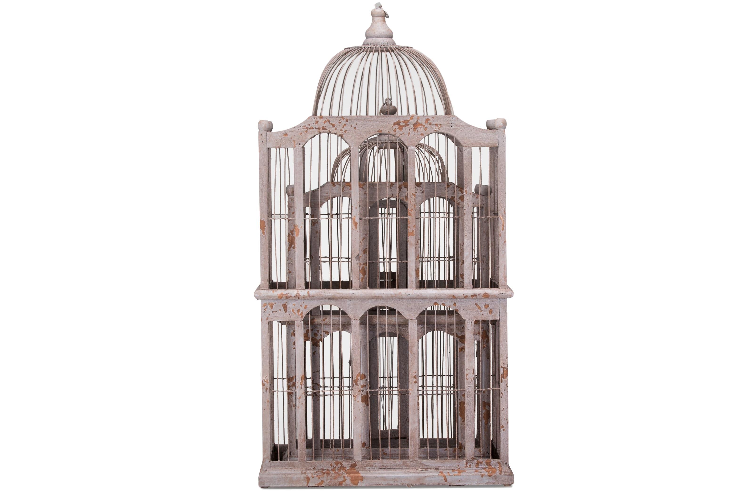 Комплект декоративных клеток (2шт)Декоративные клетки<br>Комплект состаренных декоративных клеток, в комплекте 2 клетки разного размера.&amp;lt;div&amp;gt;&amp;lt;br&amp;gt;&amp;lt;/div&amp;gt;&amp;lt;div&amp;gt;Размеры:&amp;lt;/div&amp;gt;&amp;lt;div&amp;gt;&amp;lt;div&amp;gt;1) 41x76x25,4 см.&amp;lt;/div&amp;gt;&amp;lt;div&amp;gt;2) 36x61x18 см.&amp;lt;/div&amp;gt;&amp;lt;/div&amp;gt;<br><br>Material: Металл<br>Width см: 41<br>Depth см: 25<br>Height см: 76