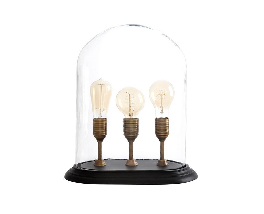 Настольная лампа SargentДекоративные лампы<br>Настольная лампа Sargent с тремя оригинальными световыми элементами, расположенными под одним плафоном. Плафон выполнен из прозрачного стекла. Основание цвета состаренной латуни.&amp;lt;div&amp;gt;&amp;lt;br&amp;gt;&amp;lt;/div&amp;gt;&amp;lt;div&amp;gt;&amp;lt;div&amp;gt;Вид цоколя: E27&amp;lt;/div&amp;gt;&amp;lt;div&amp;gt;Мощность лампы: 40W&amp;lt;/div&amp;gt;&amp;lt;div&amp;gt;Количество ламп: 3&amp;lt;/div&amp;gt;&amp;lt;/div&amp;gt;&amp;lt;div&amp;gt;&amp;lt;br&amp;gt;&amp;lt;/div&amp;gt;&amp;lt;div&amp;gt;Лампочки в комплект не входят.&amp;lt;/div&amp;gt;<br><br>Material: Металл<br>Width см: 34<br>Depth см: 22<br>Height см: 44