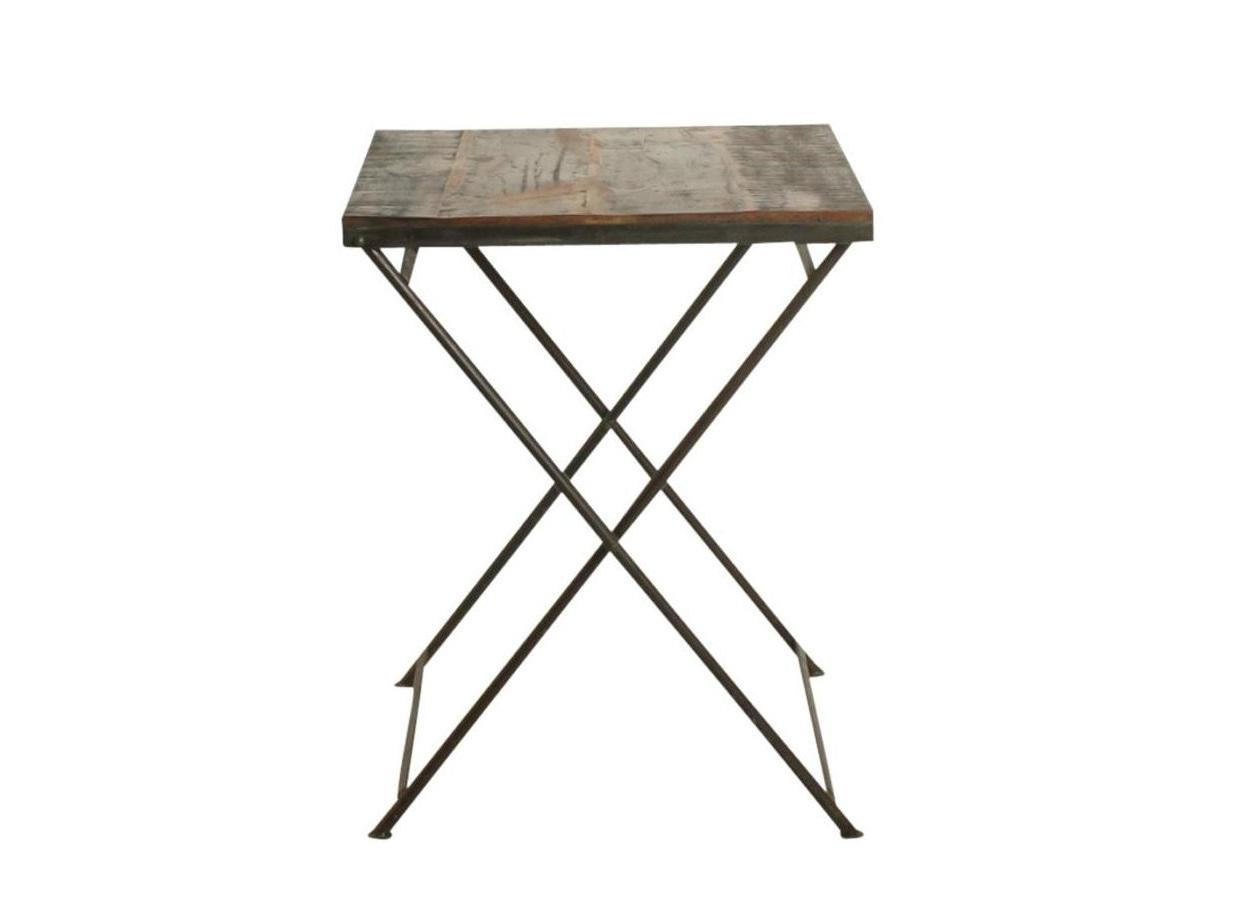 Столик BistroПриставные столики<br>Столик кофейный, складной.&amp;amp;nbsp;<br><br>Material: Дерево<br>Ширина см: 60<br>Высота см: 76<br>Глубина см: 60