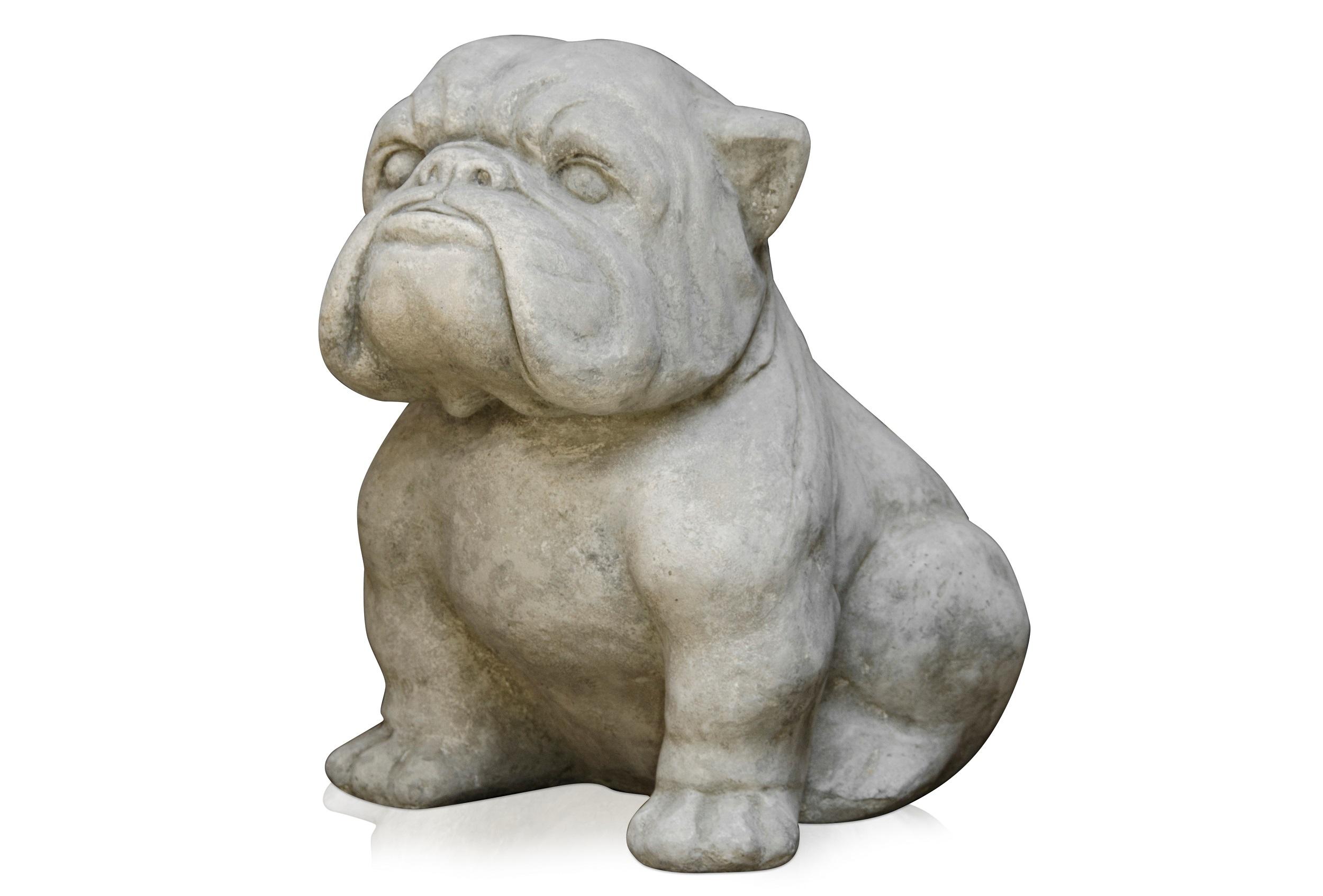 Скульптура BuldogСтатуэтки<br>Скульптура фигура декоративная.&amp;amp;nbsp;<br><br>Material: Цемент<br>Ширина см: 44<br>Высота см: 31<br>Глубина см: 41