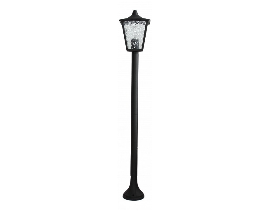 Наземный высокий светильник ColossoУличные наземные светильники<br>&amp;lt;div&amp;gt;Вид цоколя: E27&amp;lt;/div&amp;gt;&amp;lt;div&amp;gt;Мощность: &amp;amp;nbsp;60W&amp;amp;nbsp;&amp;lt;/div&amp;gt;&amp;lt;div&amp;gt;Количество ламп: 1 (нет в комплекте)&amp;lt;/div&amp;gt;<br><br>Material: Металл<br>Width см: 18<br>Depth см: 18<br>Height см: 105