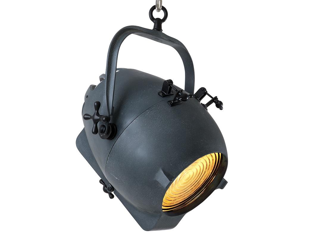 Подвесной светильник SpitfireПодвесные светильники<br>Подвесной светильник Spitfire в виде прожектора из металла цинкового цвета. Крепление осуществляется на крюк. Высоту можно регулировать за счет звеньев цепи.&amp;lt;div&amp;gt;&amp;lt;br&amp;gt;&amp;lt;/div&amp;gt;&amp;lt;div&amp;gt;&amp;lt;div&amp;gt;Вид цоколя: E27&amp;lt;/div&amp;gt;&amp;lt;div&amp;gt;Мощность лампы: 60W&amp;lt;/div&amp;gt;&amp;lt;div&amp;gt;Количество ламп: 2&amp;lt;/div&amp;gt;&amp;lt;/div&amp;gt;<br><br>Material: Металл<br>Width см: 40<br>Depth см: 40<br>Height см: 60