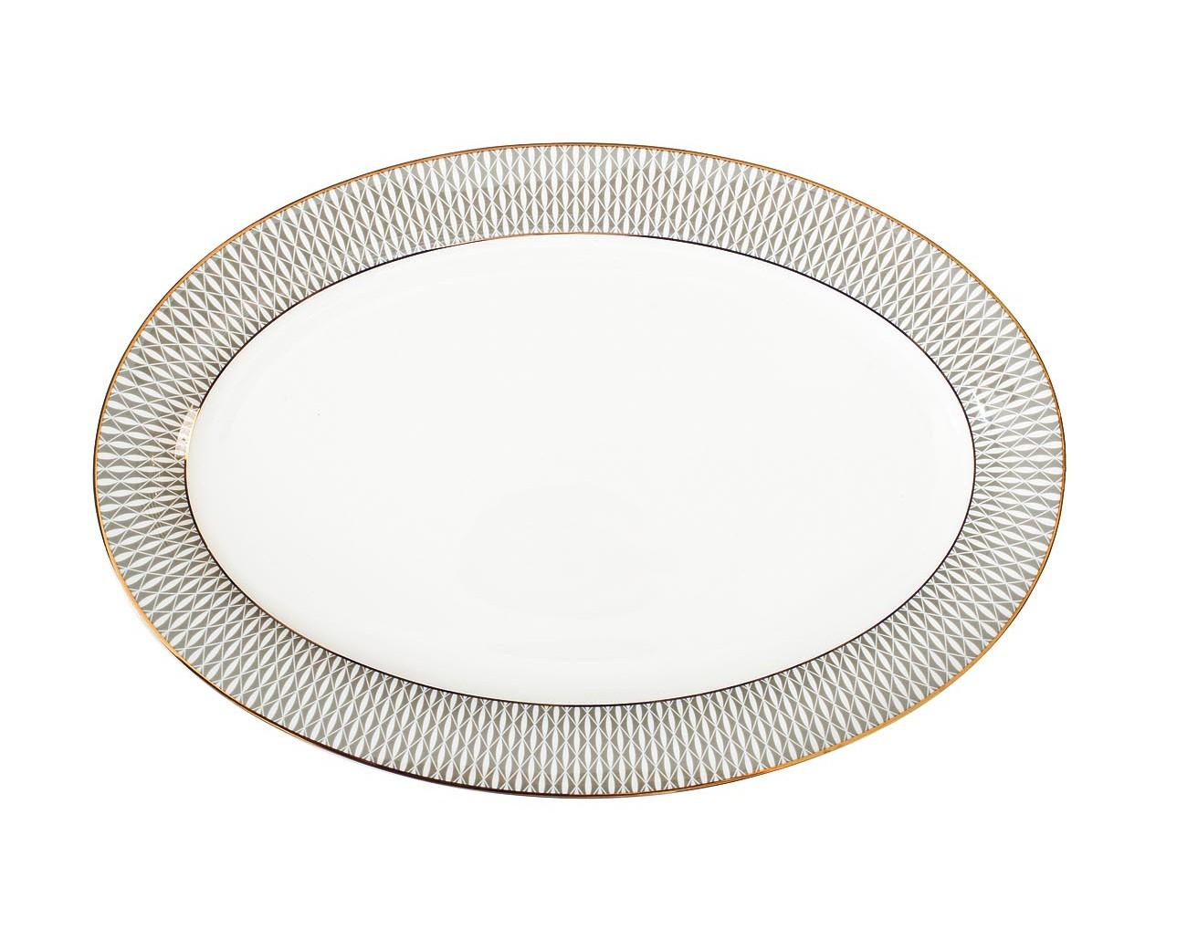 Тарелка овальнаяТарелки<br><br><br>Material: Фарфор