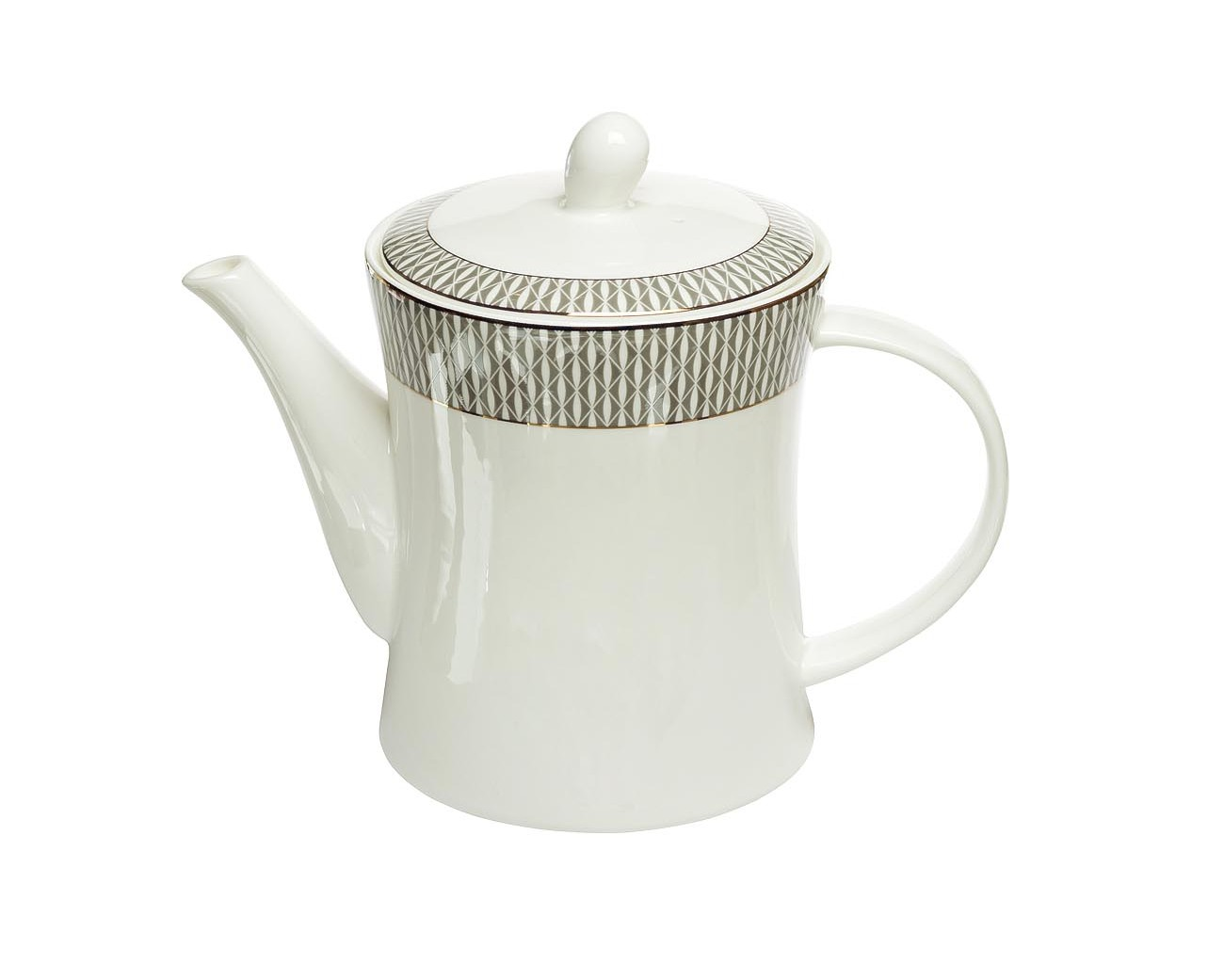 Чайник заварочныйЧайники<br>Объем: 1,1л<br><br>Material: Фарфор