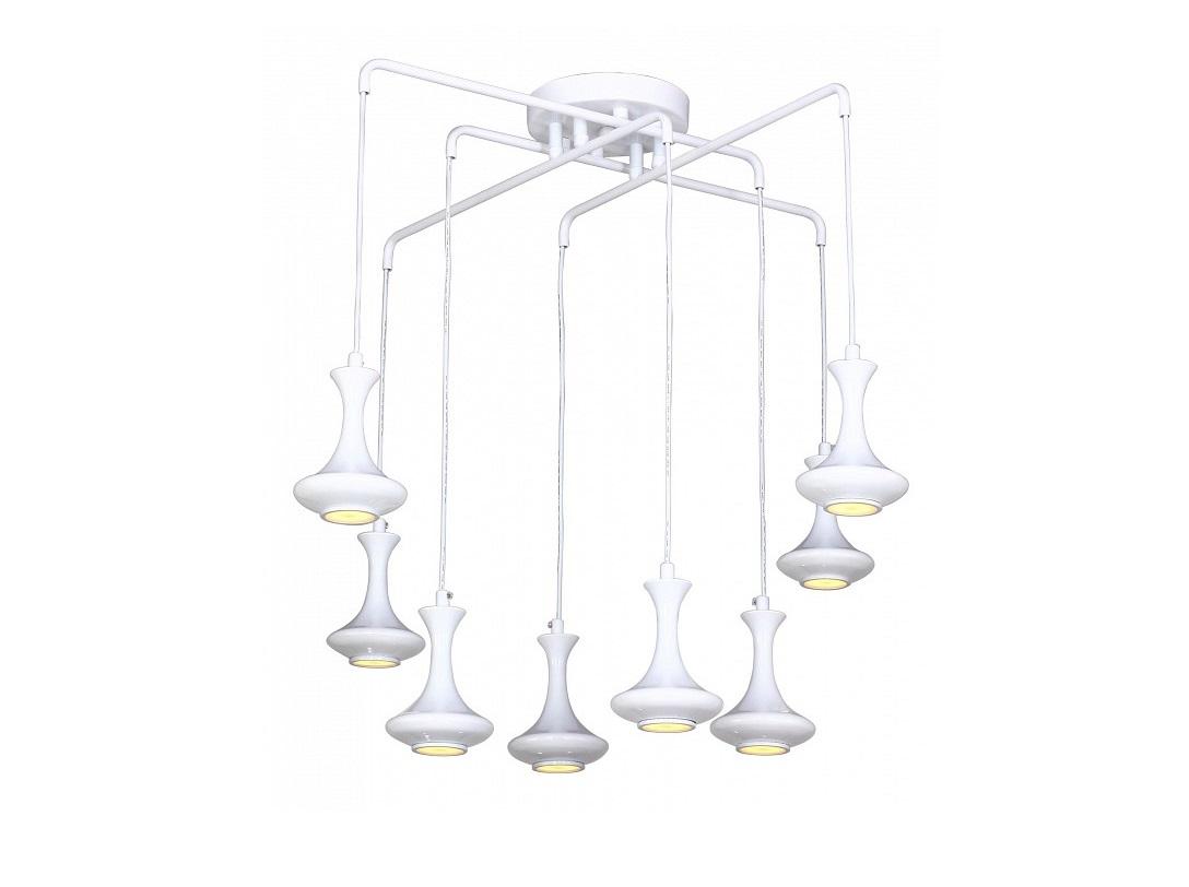 Подвесной светильник LeoПодвесные светильники<br>&amp;lt;div&amp;gt;Вид цоколя: G5&amp;lt;/div&amp;gt;&amp;lt;div&amp;gt;Мощность: 5W&amp;lt;/div&amp;gt;&amp;lt;div&amp;gt;Количество ламп: 8 (нет в комплекте)&amp;lt;/div&amp;gt;<br><br>Material: Металл<br>Высота см: 78