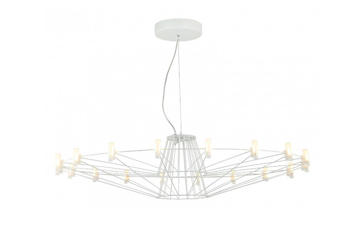 Подвесной светильник SaluteЛюстры подвесные<br>&amp;lt;div&amp;gt;&amp;lt;div&amp;gt;Вид цоколя: LED&amp;lt;/div&amp;gt;&amp;lt;div&amp;gt;Мощность: 2W&amp;lt;/div&amp;gt;&amp;lt;div&amp;gt;Количество ламп: 12 (нет в комплекте)&amp;lt;/div&amp;gt;&amp;lt;/div&amp;gt;&amp;lt;div&amp;gt;&amp;lt;br&amp;gt;&amp;lt;/div&amp;gt;&amp;lt;div&amp;gt;Материал арматуры - металл&amp;lt;/div&amp;gt;&amp;lt;div&amp;gt;Материал плафонов и подвесок - акрил&amp;lt;/div&amp;gt;<br><br>Material: Акрил<br>Height см: 27<br>Diameter см: 102