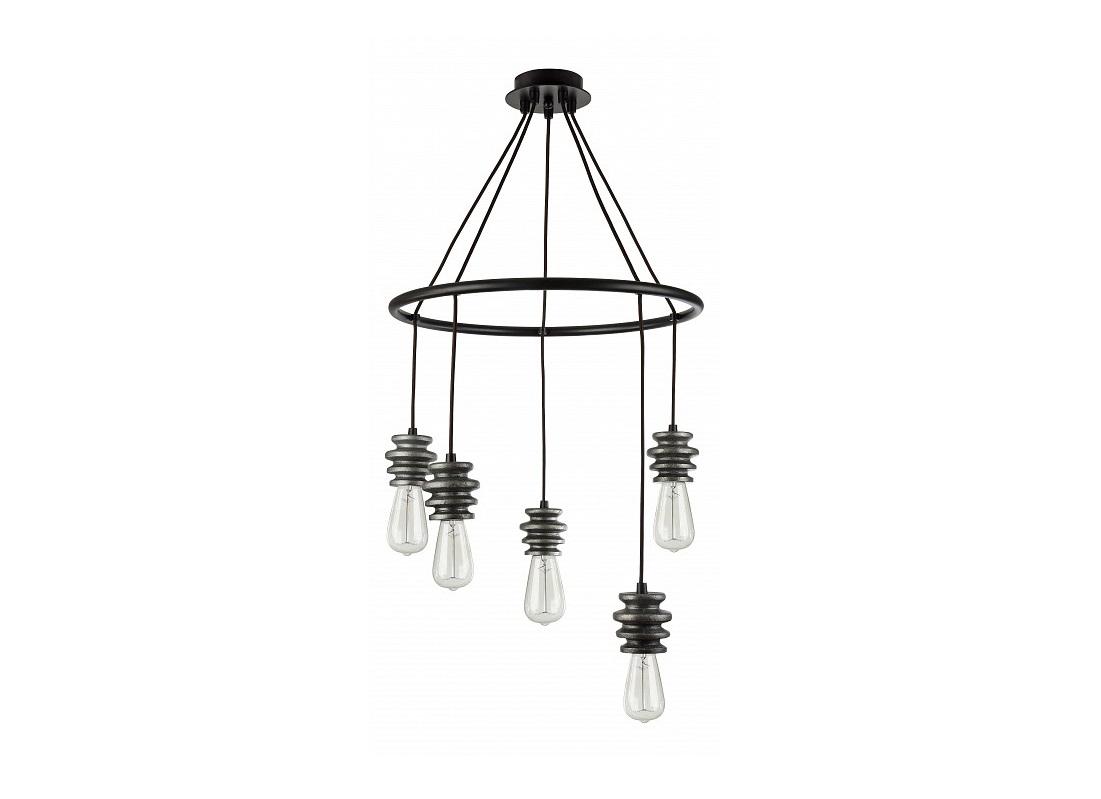 Подвесной светильник SpoolЛюстры подвесные<br>&amp;lt;div&amp;gt;&amp;lt;div&amp;gt;Вид цоколя: E27&amp;lt;/div&amp;gt;&amp;lt;div&amp;gt;Мощность: 60W&amp;lt;/div&amp;gt;&amp;lt;div&amp;gt;Количество ламп: 5 (нет в комплекте)&amp;lt;/div&amp;gt;&amp;lt;/div&amp;gt;&amp;lt;div&amp;gt;&amp;lt;br&amp;gt;&amp;lt;/div&amp;gt;&amp;lt;div&amp;gt;Материал арматуры - гипс, металл&amp;lt;/div&amp;gt;<br><br>Material: Металл<br>Height см: 100.5<br>Diameter см: 57.8