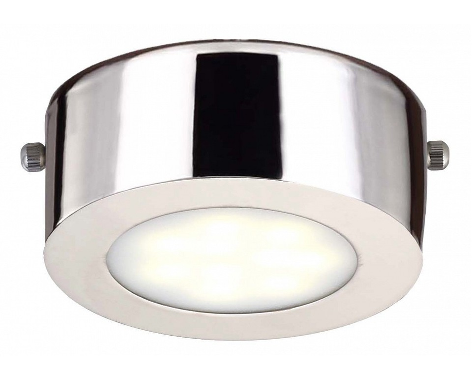 Накладной светильник LustigeТочечный свет<br>&amp;lt;div&amp;gt;Вид цоколя: LED&amp;lt;/div&amp;gt;&amp;lt;div&amp;gt;Мощность: &amp;amp;nbsp;5W&amp;lt;/div&amp;gt;&amp;lt;div&amp;gt;Количество ламп: 1 (нет в комплекте)&amp;lt;/div&amp;gt;<br><br>Material: Металл<br>Height см: 4<br>Diameter см: 10