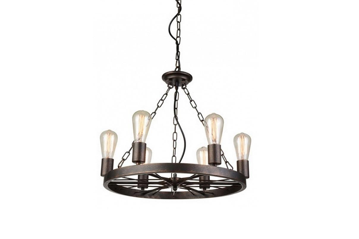 Подвесной светильник FahrradЛюстры подвесные<br>&amp;lt;div&amp;gt;Вид цоколя: E27&amp;lt;/div&amp;gt;&amp;lt;div&amp;gt;Мощность: 60W&amp;lt;/div&amp;gt;&amp;lt;div&amp;gt;Количество ламп: 6 (нет в комплекте)&amp;lt;/div&amp;gt;<br><br>Material: Металл<br>Height см: 47<br>Diameter см: 53