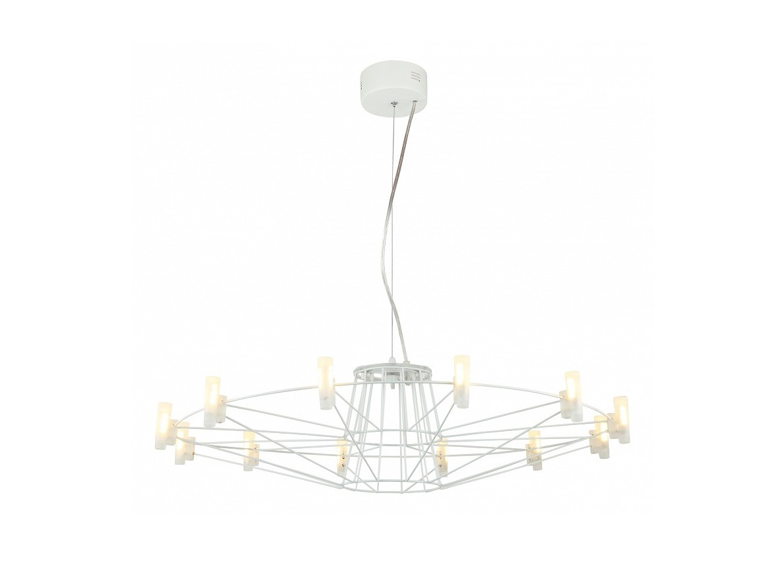 Подвесной светильник SaluteЛюстры подвесные<br>&amp;lt;div&amp;gt;&amp;lt;div&amp;gt;Вид цоколя: LED&amp;lt;/div&amp;gt;&amp;lt;div&amp;gt;Мощность: 2W&amp;lt;/div&amp;gt;&amp;lt;div&amp;gt;Количество ламп: 12 (нет в комплекте)&amp;lt;/div&amp;gt;&amp;lt;/div&amp;gt;&amp;lt;div&amp;gt;&amp;lt;br&amp;gt;&amp;lt;/div&amp;gt;&amp;lt;div&amp;gt;Материал арматуры - металл&amp;lt;/div&amp;gt;&amp;lt;div&amp;gt;Материал плафонов и подвесок - акрил&amp;lt;/div&amp;gt;<br><br>Material: Акрил<br>Height см: 22<br>Diameter см: 70
