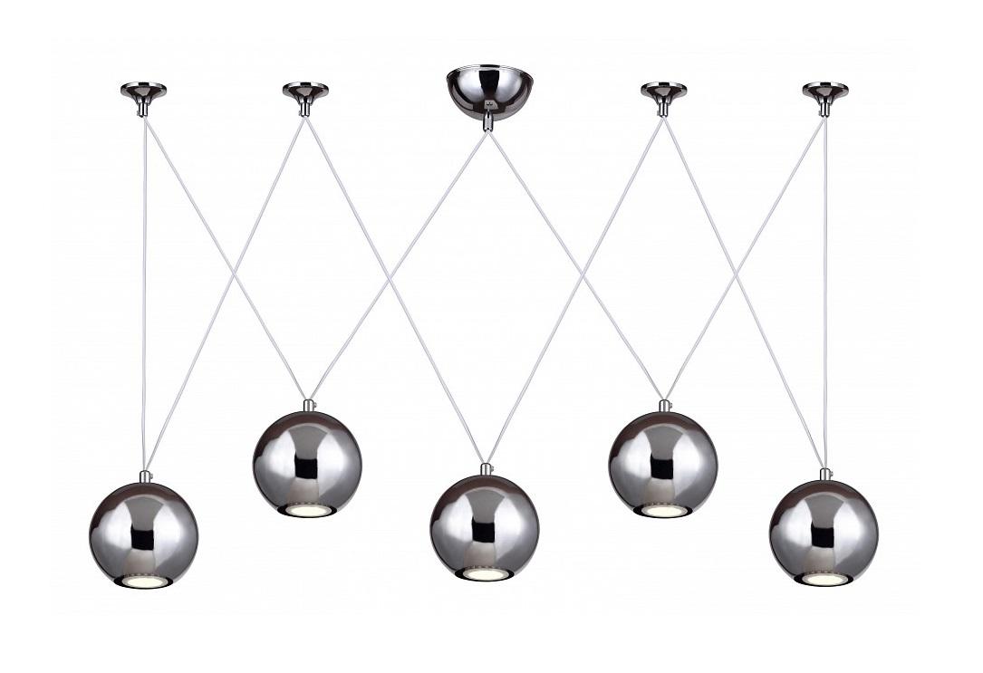 Подвесной светильник GialloПодвесные светильники<br>&amp;lt;div&amp;gt;Вид цоколя: GU10&amp;lt;/div&amp;gt;&amp;lt;div&amp;gt;Мощность: 4W&amp;lt;/div&amp;gt;&amp;lt;div&amp;gt;Количество ламп: 5 (нет в комплекте)&amp;lt;/div&amp;gt;<br><br>Material: Металл<br>Ширина см: 12<br>Высота см: 150