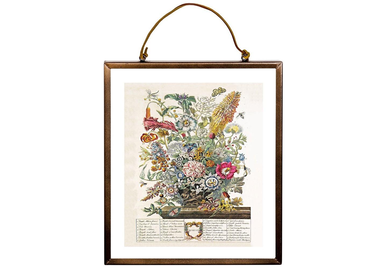 Репродукция «12 месяцев цветения» версия Август