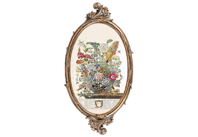 Репродукция «12 месяцев цветения» (Август)Картины<br>Репродукция «12 месяцев цветения» (Август)  - это величие и изящество. Цветочный узор  впишется в палитры французского классицизма, английского и романского стилей, ренессанса и &amp;quot;ар-деко&amp;quot;, а в сочетании с  фламандской гравюрой украсит интерьеры &amp;quot;бохо&amp;quot;, &amp;quot;кантри&amp;quot; и &amp;quot;прованса&amp;quot;.  Изображение напечатано на холсте, покрыто защитным матовым лаком. Классический бронзовый цвет рамы из полистоуна  - залог соседства с большинством предметов мебели и декора. Удобное крепление рамы позволит без труда разместить её на стене.&amp;lt;div&amp;gt;&amp;lt;br&amp;gt;&amp;lt;/div&amp;gt;&amp;lt;div&amp;gt;Материал: рама - полистоун; изображение – холст, матовый лак&amp;lt;br&amp;gt;&amp;lt;/div&amp;gt;<br><br>Material: Полистоун<br>Ширина см: 28.5<br>Высота см: 54.5<br>Глубина см: 1.5