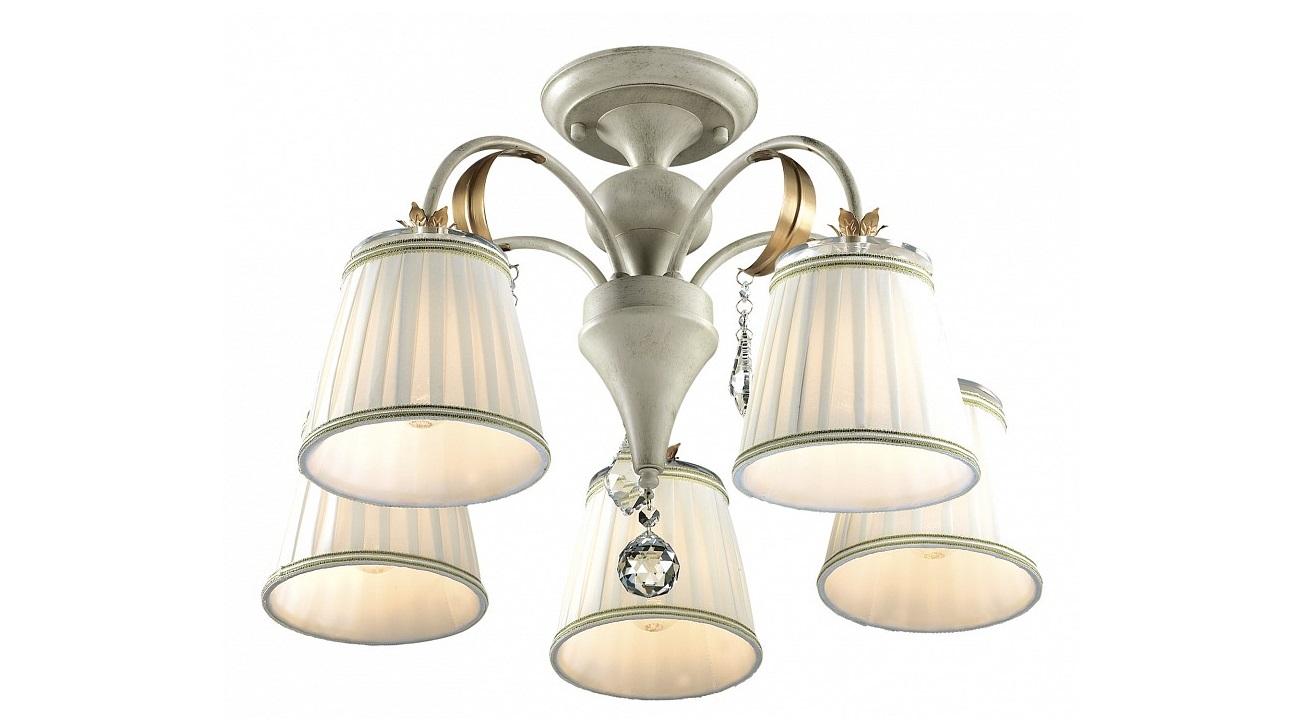 Подвесная люстра DaguraЛюстры подвесные<br>&amp;lt;div&amp;gt;&amp;lt;div&amp;gt;Вид цоколя: E14&amp;lt;/div&amp;gt;&amp;lt;div&amp;gt;Мощность: 60W&amp;lt;/div&amp;gt;&amp;lt;div&amp;gt;Количество ламп: 5 (нет в комплекте)&amp;lt;/div&amp;gt;&amp;lt;/div&amp;gt;&amp;lt;div&amp;gt;&amp;lt;br&amp;gt;&amp;lt;/div&amp;gt;&amp;lt;div&amp;gt;Материал арматуры - металл, стекло&amp;lt;/div&amp;gt;&amp;lt;div&amp;gt;Материал плафонов и подвесок - текстиль, хрусталь,&amp;lt;br&amp;gt;&amp;lt;/div&amp;gt;<br><br>Material: Металл<br>Высота см: 39