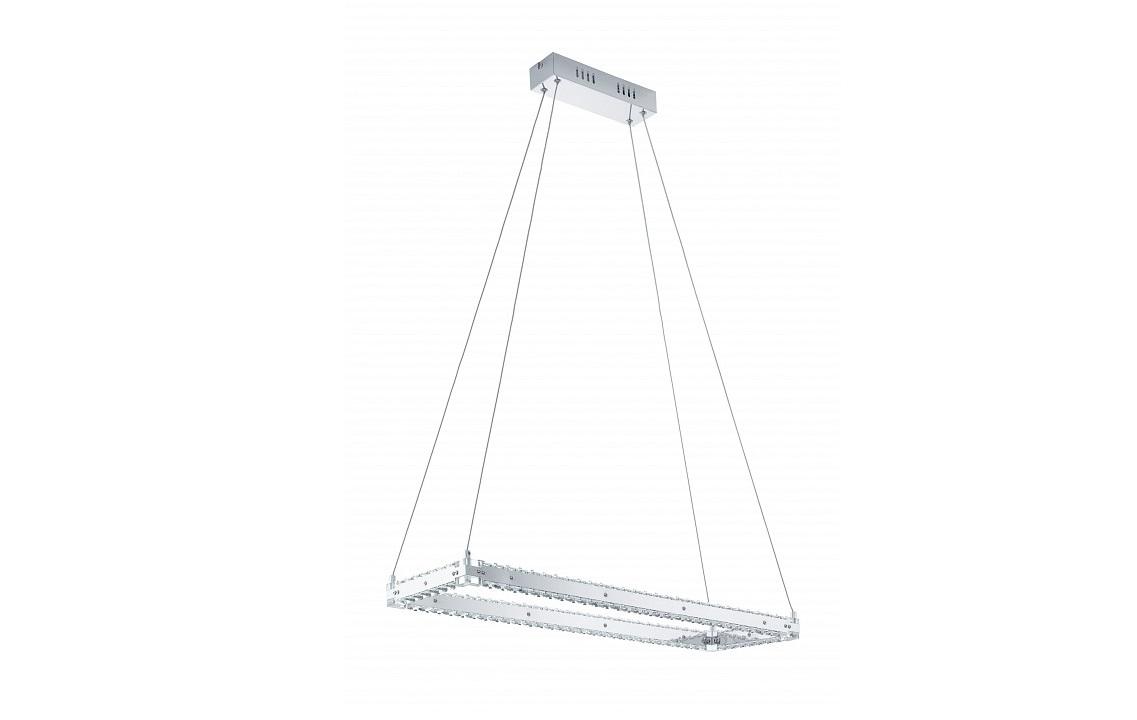 Подвесной светильник VarrazoПодвесные светильники<br>&amp;lt;div&amp;gt;&amp;lt;div&amp;gt;Вид цоколя: LED&amp;lt;/div&amp;gt;&amp;lt;div&amp;gt;Мощность: 17W&amp;lt;/div&amp;gt;&amp;lt;div&amp;gt;Количество ламп: 1 (нет в комплекте)&amp;lt;/div&amp;gt;&amp;lt;/div&amp;gt;&amp;lt;div&amp;gt;&amp;lt;br&amp;gt;&amp;lt;/div&amp;gt;&amp;lt;div&amp;gt;Материал арматуры - сталь&amp;lt;/div&amp;gt;&amp;lt;div&amp;gt;Материал плафонов и подвесок - хрусталь&amp;lt;/div&amp;gt;<br><br>Material: Сталь<br>Ширина см: 80<br>Высота см: 100<br>Глубина см: 25