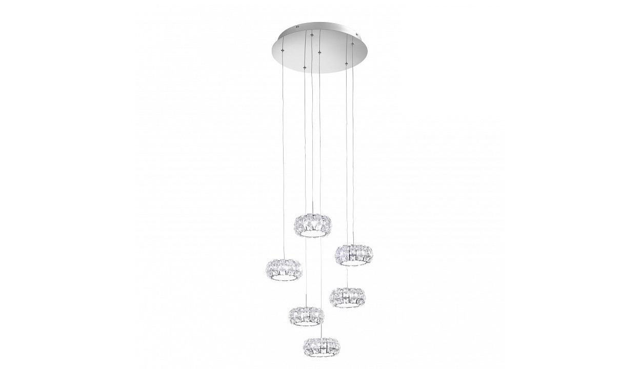 Подвесной светильник CorlianoПодвесные светильники<br>&amp;lt;div&amp;gt;&amp;lt;div&amp;gt;Вид цоколя: LED&amp;lt;/div&amp;gt;&amp;lt;div&amp;gt;Мощность: 5W&amp;lt;/div&amp;gt;&amp;lt;div&amp;gt;Количество ламп: 6 (нет в комплекте)&amp;lt;/div&amp;gt;&amp;lt;/div&amp;gt;&amp;lt;div&amp;gt;&amp;lt;br&amp;gt;&amp;lt;/div&amp;gt;&amp;lt;div&amp;gt;Материал арматуры - металл&amp;lt;/div&amp;gt;&amp;lt;div&amp;gt;Материал плафонов и подвесок - хрусталь&amp;lt;/div&amp;gt;<br><br>Material: Металл<br>Height см: 166<br>Diameter см: 47
