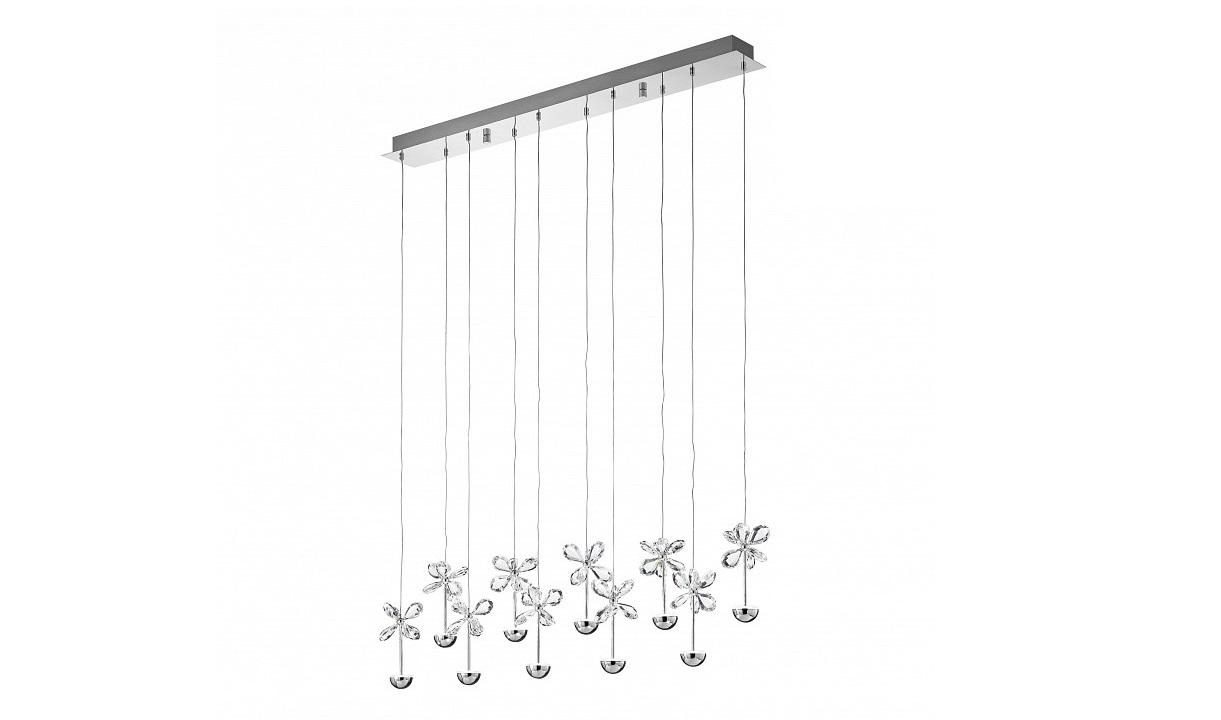Подвесной светильник PianopoliПодвесные светильники<br>&amp;lt;div&amp;gt;&amp;lt;div&amp;gt;Вид цоколя: LED&amp;lt;/div&amp;gt;&amp;lt;div&amp;gt;Мощность: 2,5W&amp;lt;/div&amp;gt;&amp;lt;div&amp;gt;Количество ламп: 10 (нет в комплекте)&amp;lt;/div&amp;gt;&amp;lt;/div&amp;gt;&amp;lt;div&amp;gt;&amp;lt;br&amp;gt;&amp;lt;/div&amp;gt;&amp;lt;div&amp;gt;Материал арматуры - металл&amp;lt;/div&amp;gt;&amp;lt;div&amp;gt;Материал плафонов и подвесок - хрусталь&amp;lt;/div&amp;gt;<br><br>Material: Металл<br>Length см: None<br>Width см: 87<br>Depth см: 10<br>Height см: 110