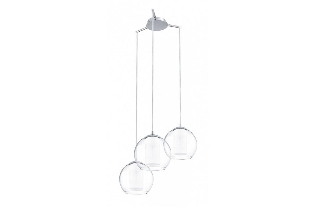 Подвесной светильник BolsanoПодвесные светильники<br>&amp;lt;div&amp;gt;&amp;lt;div&amp;gt;Вид цоколя: E27&amp;lt;/div&amp;gt;&amp;lt;div&amp;gt;Мощность: 60W&amp;lt;/div&amp;gt;&amp;lt;div&amp;gt;Количество ламп: 3 (нет в комплекте)&amp;lt;/div&amp;gt;&amp;lt;/div&amp;gt;&amp;lt;div&amp;gt;&amp;lt;br&amp;gt;&amp;lt;/div&amp;gt;&amp;lt;div&amp;gt;Материал арматуры - сталь&amp;lt;/div&amp;gt;&amp;lt;div&amp;gt;Материал плафонов и подвесок - стекло&amp;lt;/div&amp;gt;<br><br>Material: Стекло<br>Height см: 110<br>Diameter см: 50.5