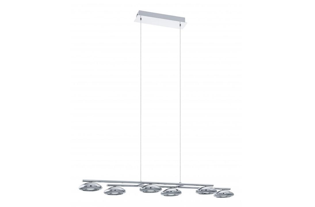 Подвесной светильник TarugaПодвесные светильники<br>&amp;lt;div&amp;gt;Вид цоколя: LED&amp;lt;/div&amp;gt;&amp;lt;div&amp;gt;Мощность: 4,5W&amp;lt;/div&amp;gt;&amp;lt;div&amp;gt;Количество ламп: 6 (нет в комплекте)&amp;lt;/div&amp;gt;<br><br>Material: Металл<br>Length см: None<br>Width см: 97.5<br>Depth см: 23.5<br>Height см: 110