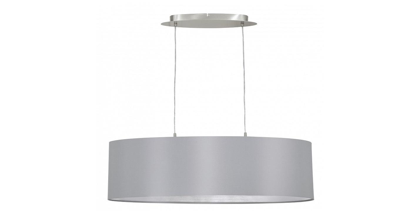 Подвесной светильник MaserloПодвесные светильники<br>&amp;lt;div&amp;gt;Вид цоколя: E27&amp;lt;/div&amp;gt;&amp;lt;div&amp;gt;Мощность: 60W&amp;lt;/div&amp;gt;Количество ламп: 2 (нет в комплекте)&amp;amp;nbsp;&amp;lt;div&amp;gt;&amp;lt;div&amp;gt;&amp;lt;br&amp;gt;&amp;lt;/div&amp;gt;&amp;lt;div&amp;gt;Материал арматуры - металл&amp;lt;/div&amp;gt;&amp;lt;div&amp;gt;Материал плафонов и подвесок - текстиль&amp;lt;/div&amp;gt;&amp;lt;/div&amp;gt;<br><br>Material: Текстиль<br>Length см: None<br>Width см: 78<br>Depth см: 22<br>Height см: 110