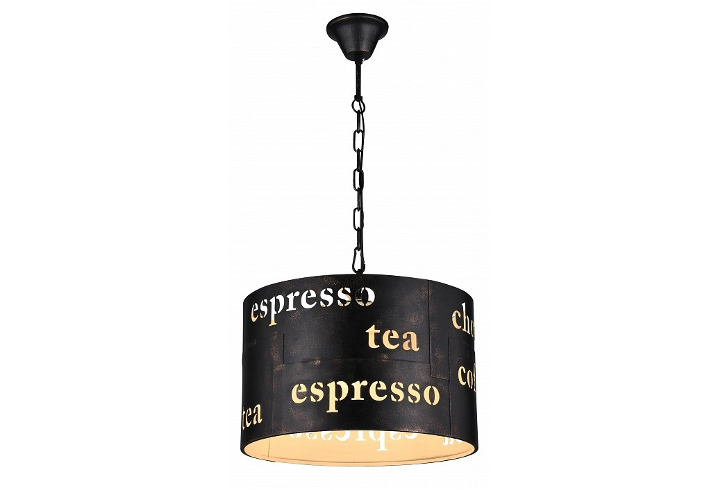 Подвесной светильник EspressoПодвесные светильники<br>&amp;lt;div&amp;gt;Вид цоколя: E27&amp;lt;/div&amp;gt;&amp;lt;div&amp;gt;Мощность: 60W&amp;lt;/div&amp;gt;&amp;lt;div&amp;gt;Количество ламп: 3 (нет в комплекте)&amp;lt;/div&amp;gt;<br><br>Material: Металл<br>Height см: 29.5<br>Diameter см: 40