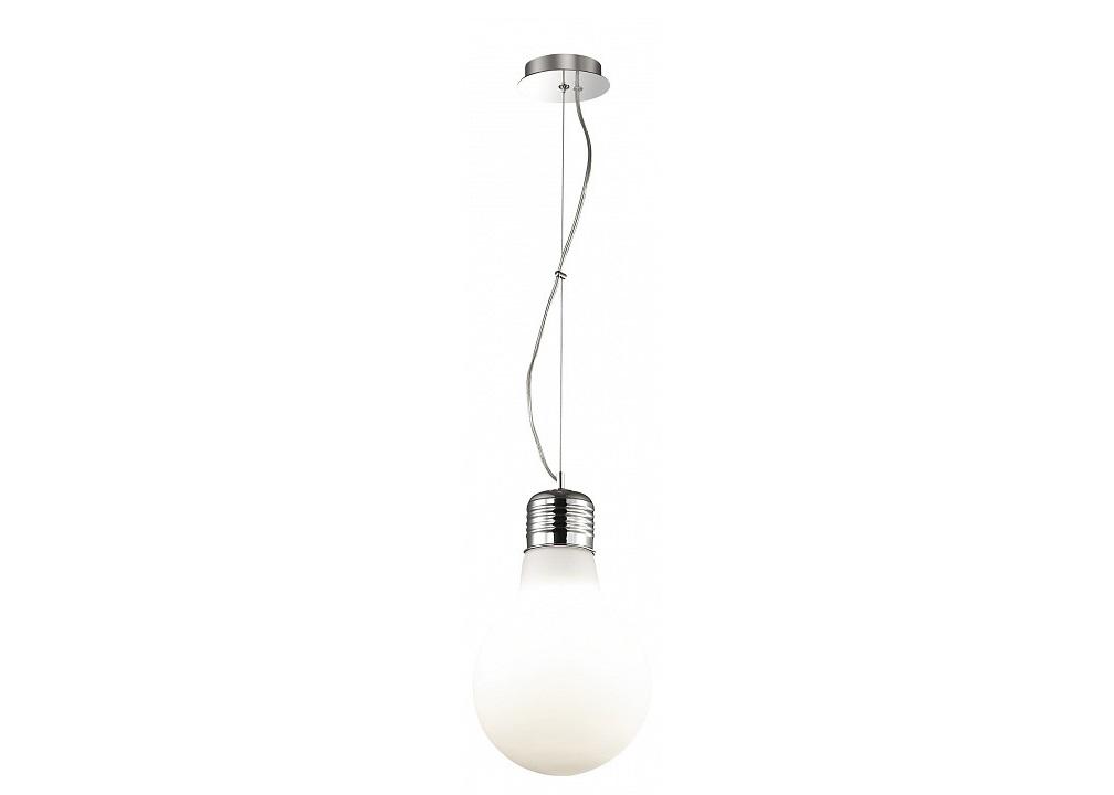 Подвесной светильник BulbПодвесные светильники<br>&amp;lt;div&amp;gt;&amp;lt;div&amp;gt;Вид цоколя: E27&amp;lt;/div&amp;gt;&amp;lt;div&amp;gt;Мощность: 60W&amp;lt;/div&amp;gt;&amp;lt;div&amp;gt;Количество ламп: 1 (нет в комплекте)&amp;lt;/div&amp;gt;&amp;lt;/div&amp;gt;&amp;lt;div&amp;gt;&amp;lt;br&amp;gt;&amp;lt;/div&amp;gt;&amp;lt;div&amp;gt;Материал арматуры - металл&amp;lt;br&amp;gt;&amp;lt;/div&amp;gt;&amp;lt;div&amp;gt;Материал плафонов и подвесок - стекло&amp;lt;/div&amp;gt;<br><br>Material: Стекло<br>Height см: 52<br>Diameter см: 30