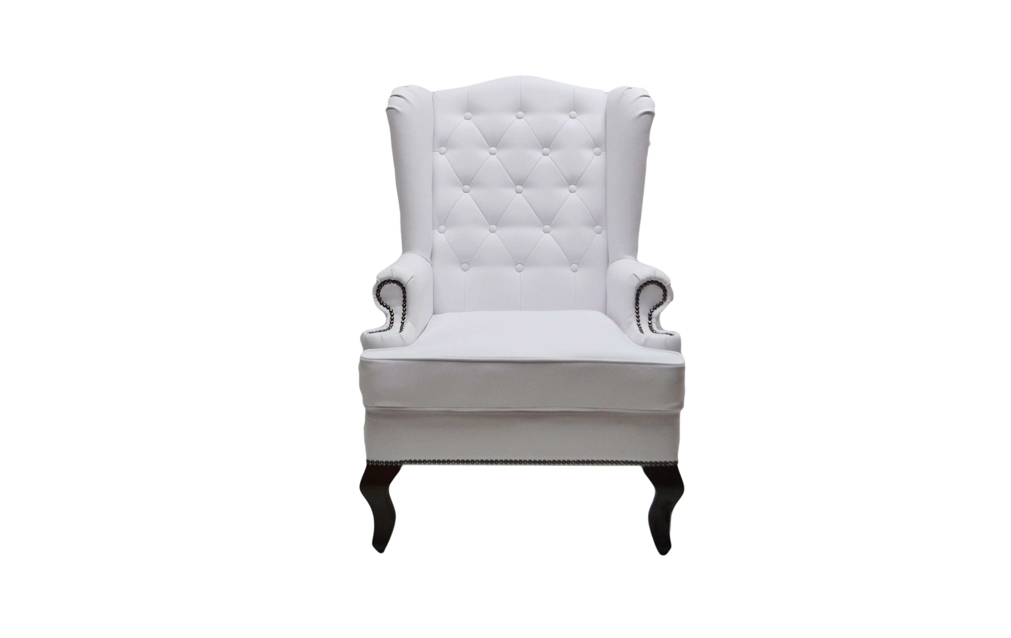 Каминное креслоКресла с высокой спинкой<br>Каминное кресло – мягкий предмет мебели повышенной комфортности с высокой спинкой, оно рассчитано на отдых возле домашнего очага. Его конструкция, как и много лет назад, почти не изменилась.<br>Каминное кресло с ушами (выступами на уровне головы), имеет каркас из дерева, гнутые ножки и мягкие подлокотники. Впервые такую модель сделали в Англии в XVII веке. Пожилых людей своеобразные крылья уберегали от сквозняков, в гостиной они предохраняли от залетания искр из камина. Отсюда появилось название такой модели – каминное кресло в английском стиле. Еще оно именуется на родине «крылатым», «дедушкиным».&amp;lt;div&amp;gt;&amp;lt;br&amp;gt;&amp;lt;/div&amp;gt;&amp;lt;div&amp;gt;Материал: Экокожа&amp;lt;/div&amp;gt;<br><br>Material: Кожа<br>Length см: None<br>Width см: 73<br>Depth см: 70<br>Height см: 110