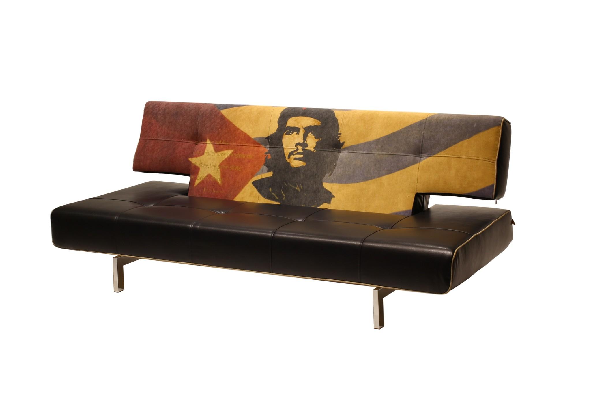 Диван StalkerКожаные диваны<br>Комфортный раскладной диван прекрасно подойдет для стильной гостиной комнаты. Разнообразные материалы, а также возможность поучаствовать в разработке дизайна в виде «принта», повышают привлекательность этой модели.&amp;amp;nbsp;&amp;lt;div&amp;gt;&amp;lt;br&amp;gt;&amp;lt;/div&amp;gt;&amp;lt;div&amp;gt;Диван раскладной, механизм «клик-кляк», имеются колеса для удобного перемещения.&amp;amp;nbsp;&amp;lt;/div&amp;gt;&amp;lt;div&amp;gt;Материал: экокожа, ткань, металлокаркас, ППУ.&amp;amp;nbsp;&amp;lt;/div&amp;gt;&amp;lt;div&amp;gt;Возможно исполнение в другом цвете.&amp;amp;nbsp;&amp;lt;/div&amp;gt;&amp;lt;div&amp;gt;Возможно нанесение любого «принта», в том числе вашего.&amp;amp;nbsp;&amp;lt;/div&amp;gt;&amp;lt;div&amp;gt;Возможно изготовление раскладного кресла.&amp;amp;nbsp;&amp;lt;/div&amp;gt;&amp;lt;div&amp;gt;Возможно изготовление с подлокотниками из кож.зам или дерево. <br>&amp;lt;/div&amp;gt;<br><br>Material: Экокожа<br>Ширина см: 215<br>Высота см: 85<br>Глубина см: 104