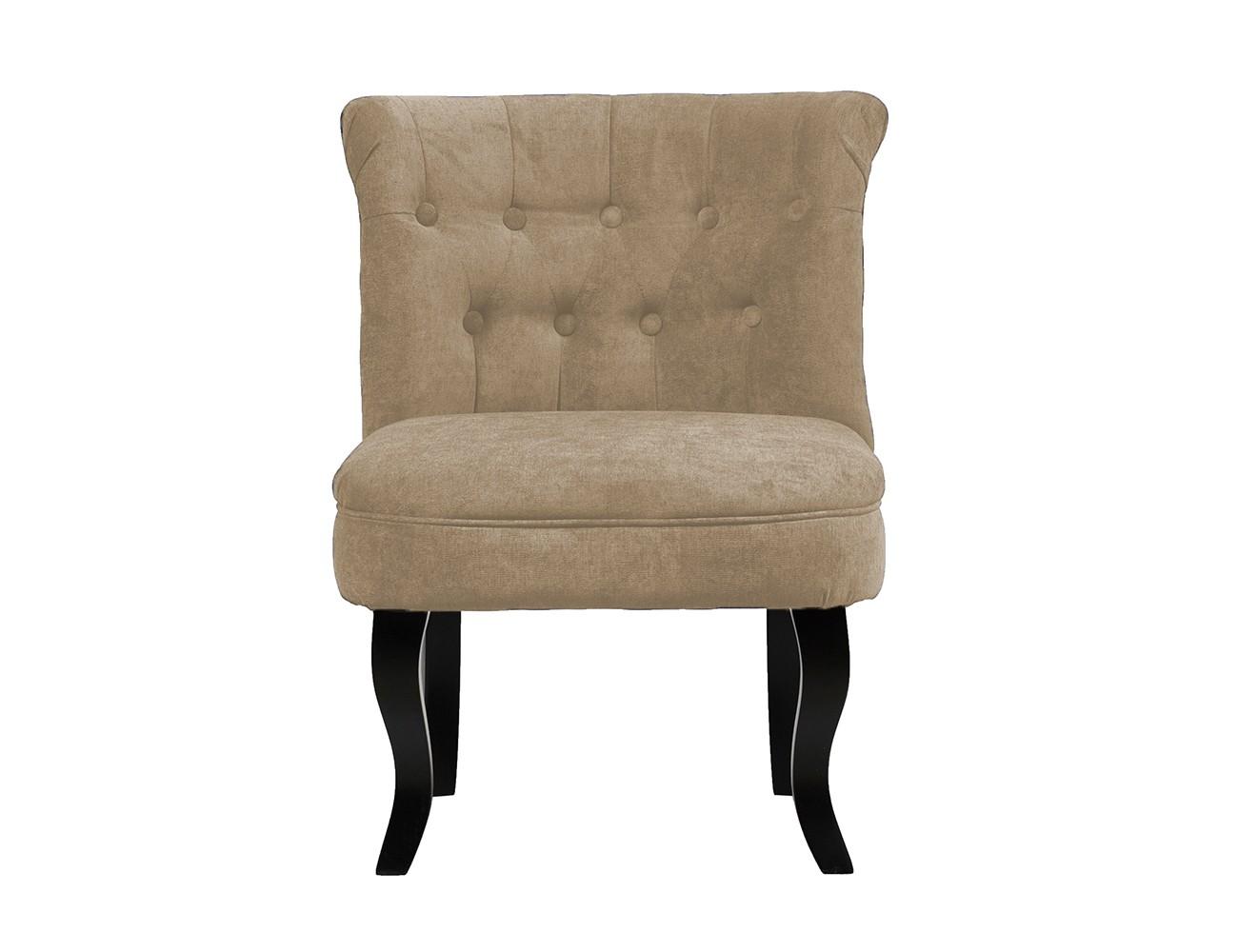 Кресло DawsonПолукресла<br>Кресло Dawson — неимоверно комфортное, удобное и красивое — выглядит так, словно вам его только что доставили из роскошного дома аристократической Франции. Богатая обивка, благородная форма деревянного каркаса самого предмета мебели, изящные ножки, нежный цвет — все говорит о его изысканности и шарме. Такое кресло непременно украсит ваш дом, добавив не только очарование и лоск, но и уют и тепло.<br><br>Material: Велюр<br>Length см: None<br>Width см: 73<br>Depth см: 63<br>Height см: 56