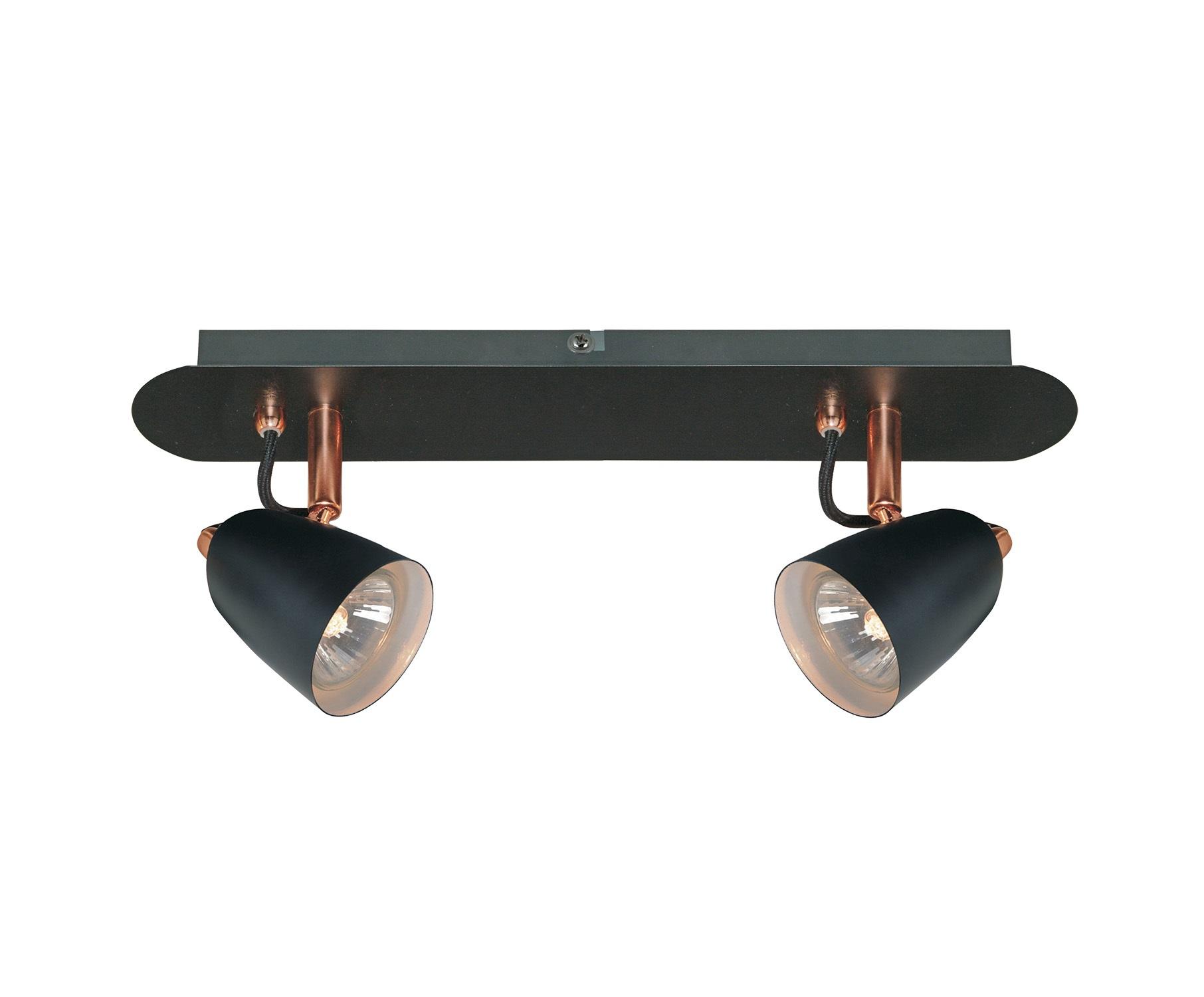 Настенно-потолочный светильникСпоты<br>&amp;lt;div&amp;gt;Вид цоколя: GU10&amp;lt;/div&amp;gt;&amp;lt;div&amp;gt;Мощность: &amp;amp;nbsp;50W&amp;lt;/div&amp;gt;&amp;lt;div&amp;gt;Количество ламп: 2 (есть в комплекте)&amp;lt;/div&amp;gt;<br><br>Material: Металл<br>Length см: None<br>Width см: 35<br>Depth см: 7<br>Height см: 15